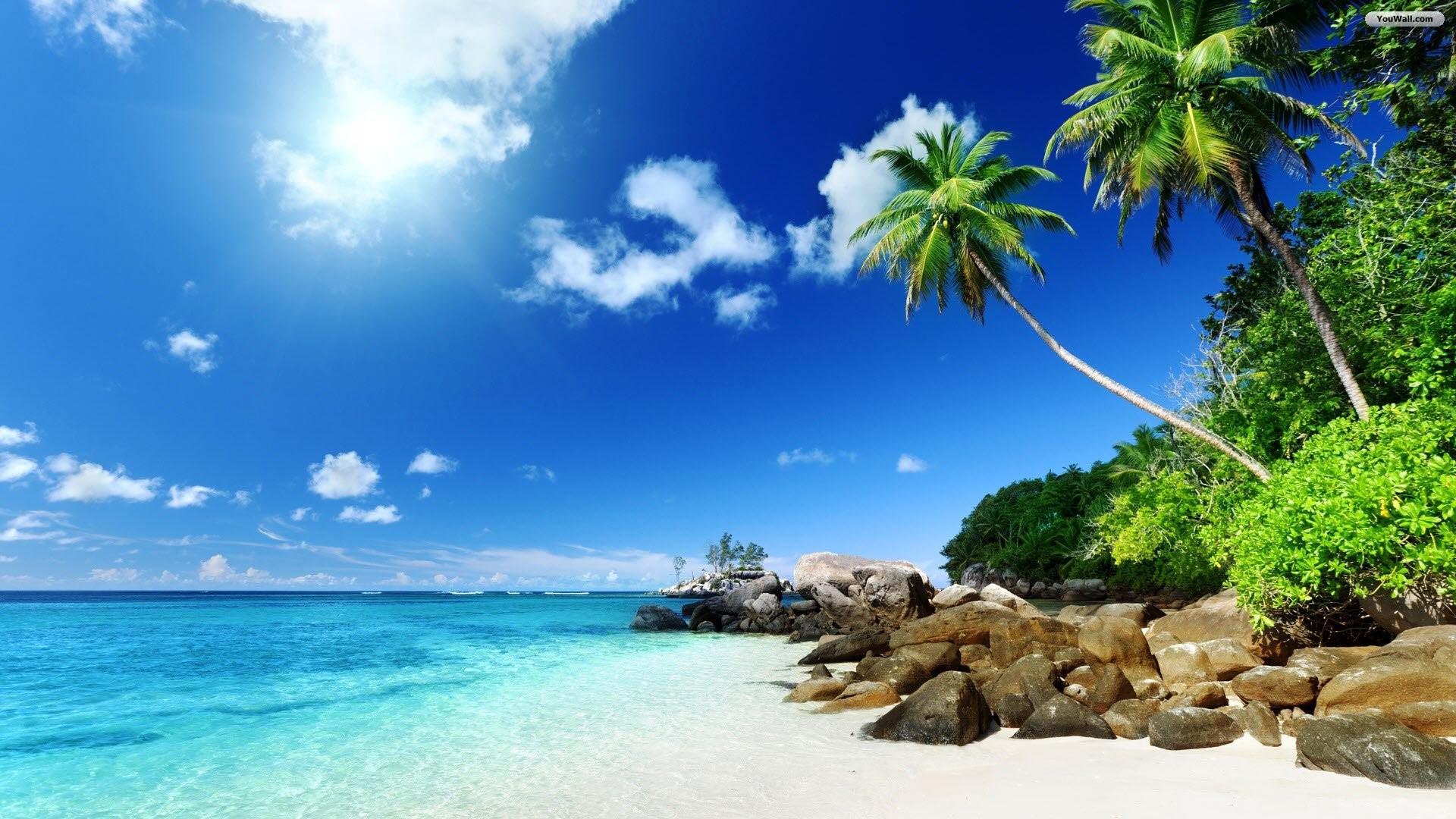 Wonderful Beach Wallpaper