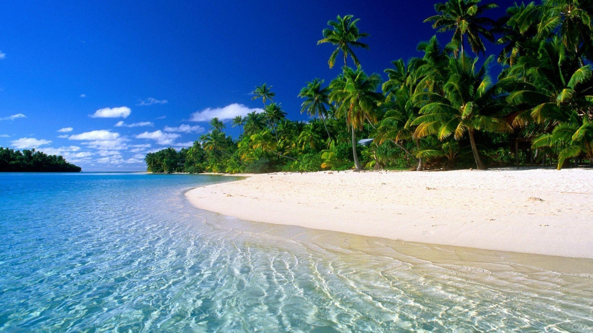 beautiful dream beach Natural Beautiful Beach HD Wallpaper