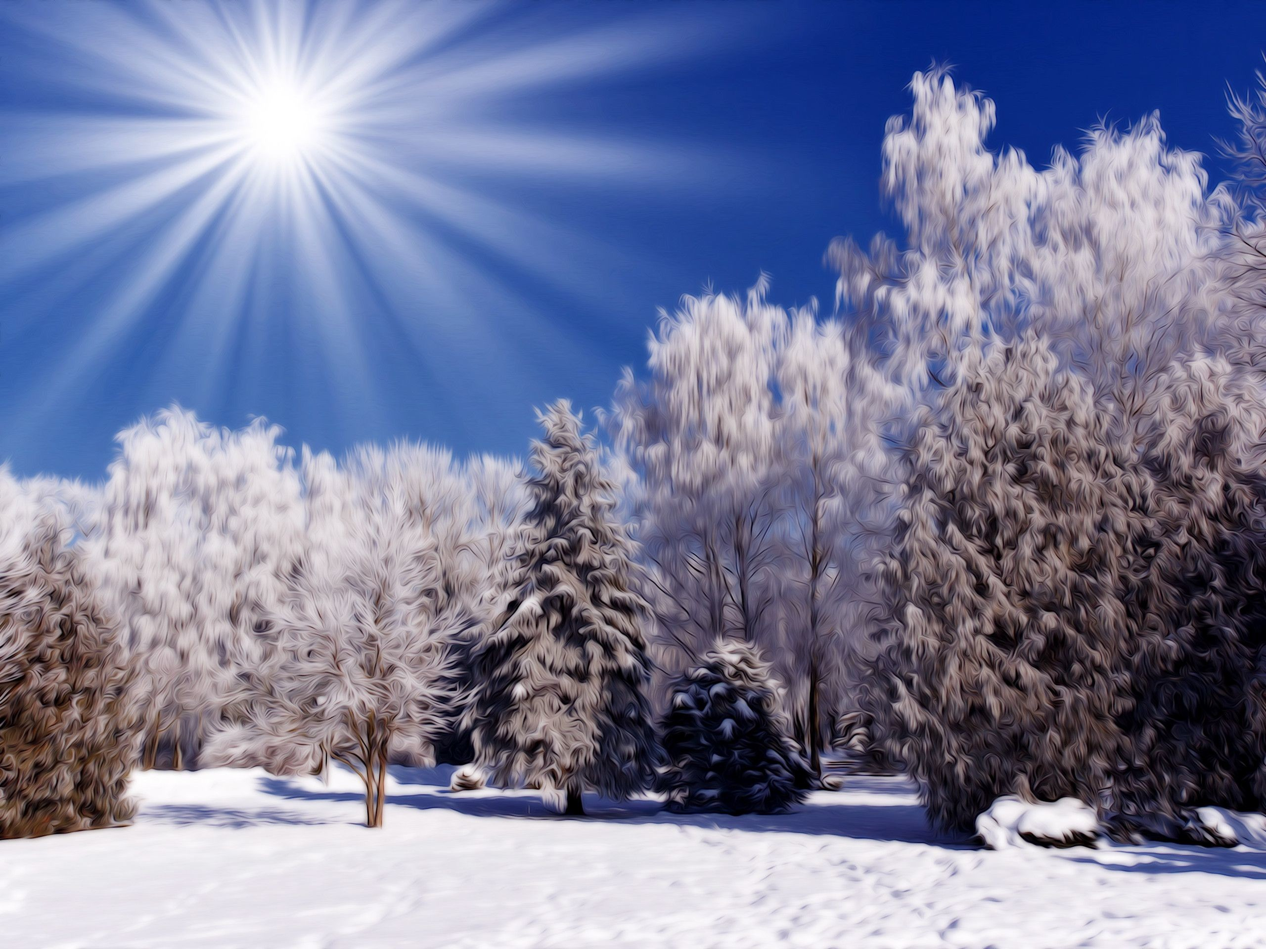 Free Desktop Wallpapers Winter Scenes – Wallpaper Cave