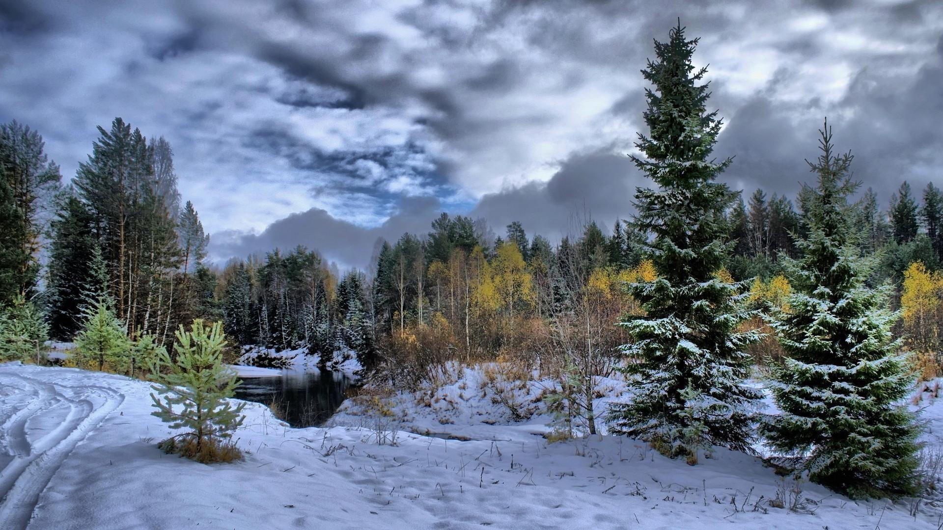 winter scene photos | Download Superb Winter Scene wallpaper 300478