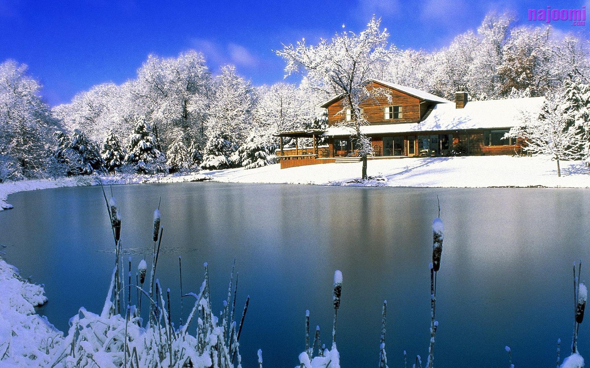 Most Beautiful Snow Scenes Wallpaper | Best Free Wallpaper