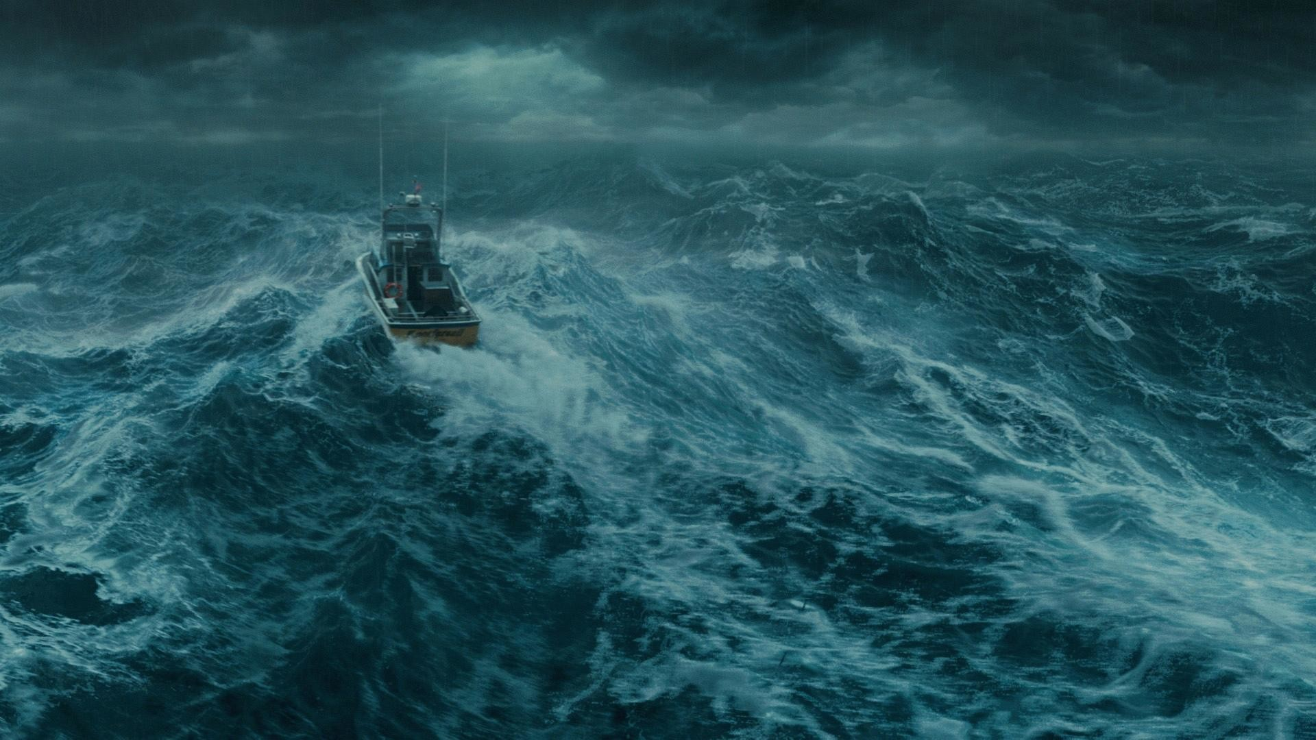 Weather sea stormy boat awesome