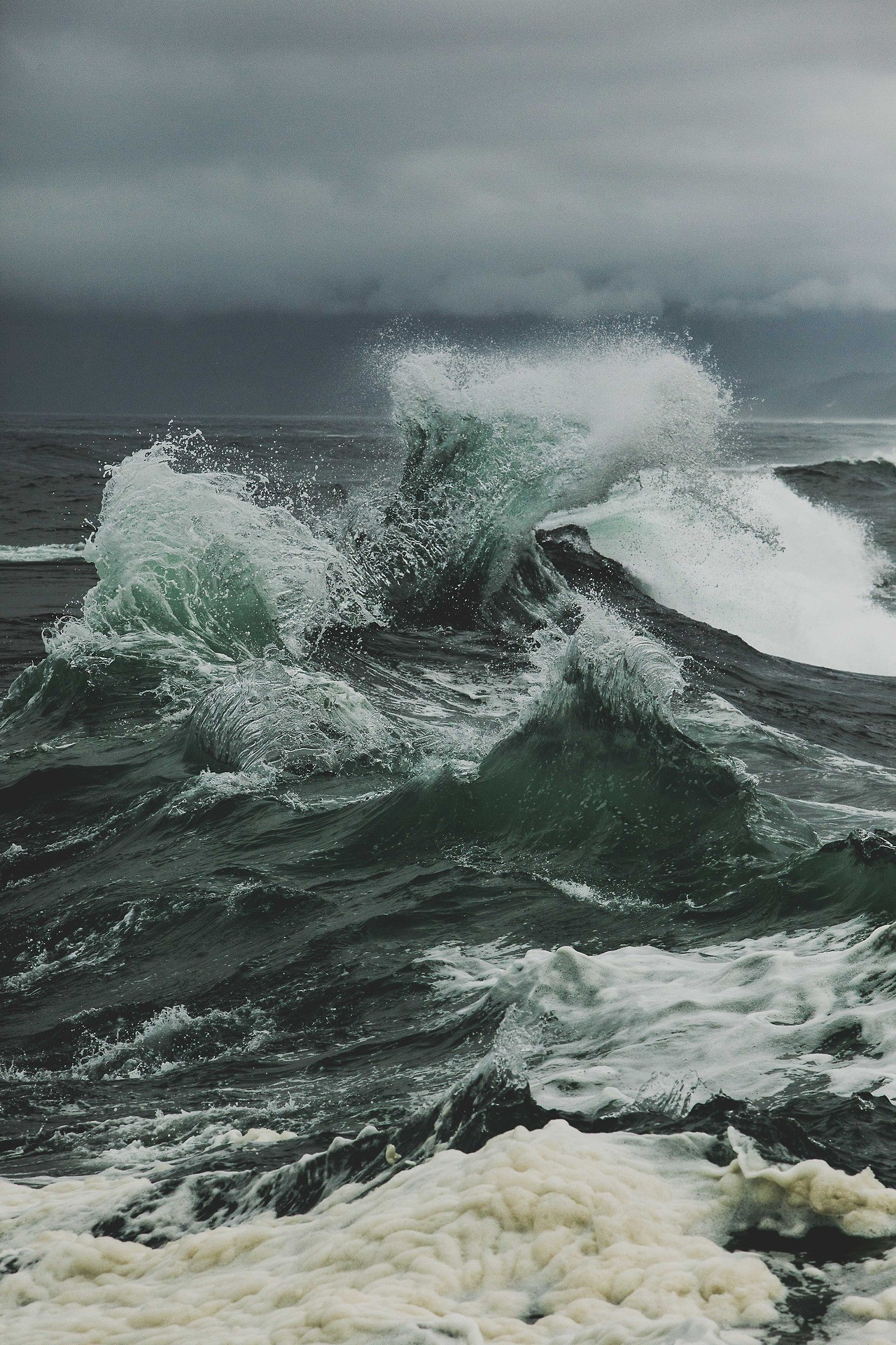 Cape Kiwanda, OR – photograph by This Normal Life. Sea StormSea Photography Stormy …