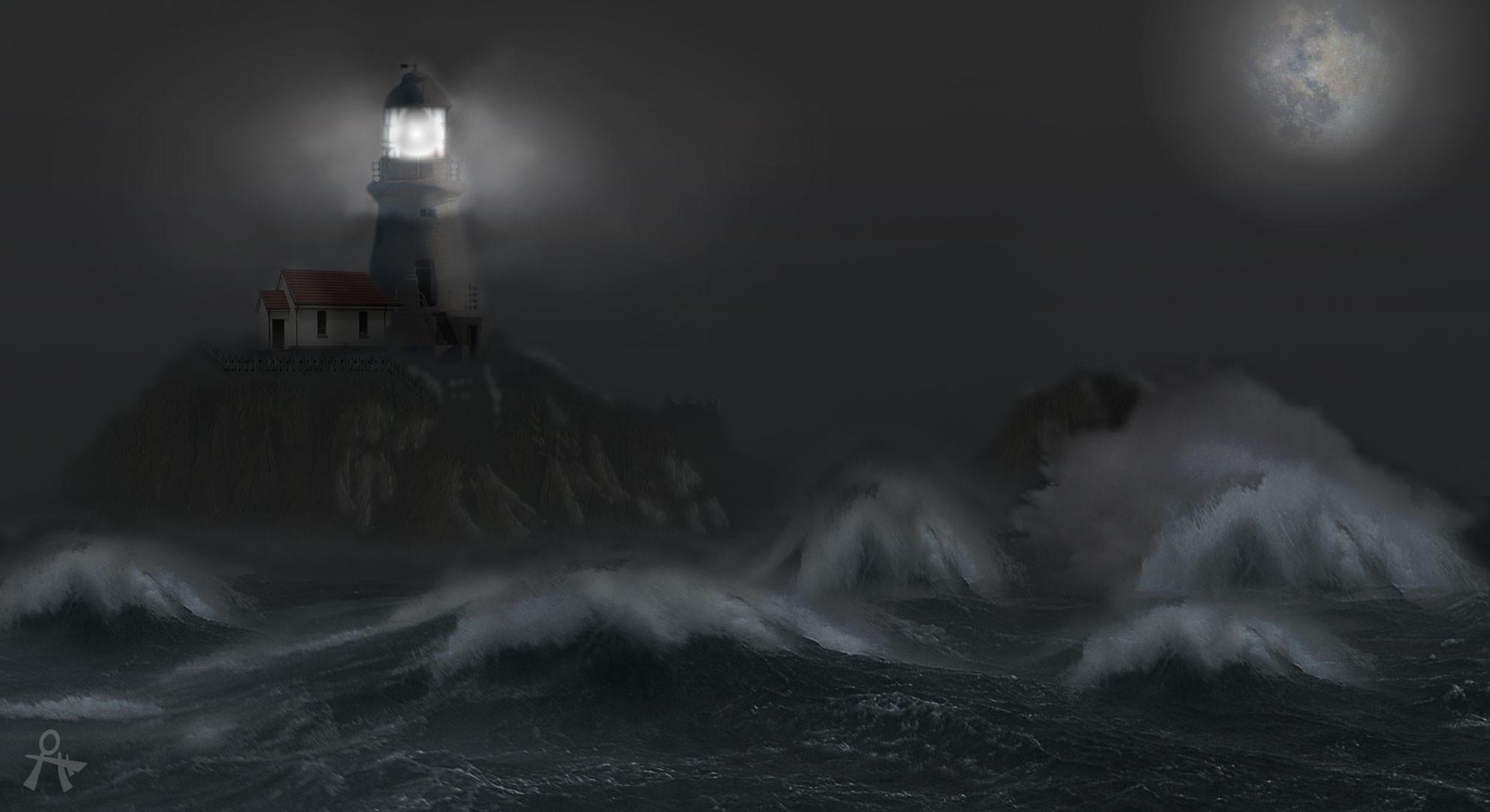 Stormy Lighthouse Wallpaper   wallpaper, wallpaper hd, background .