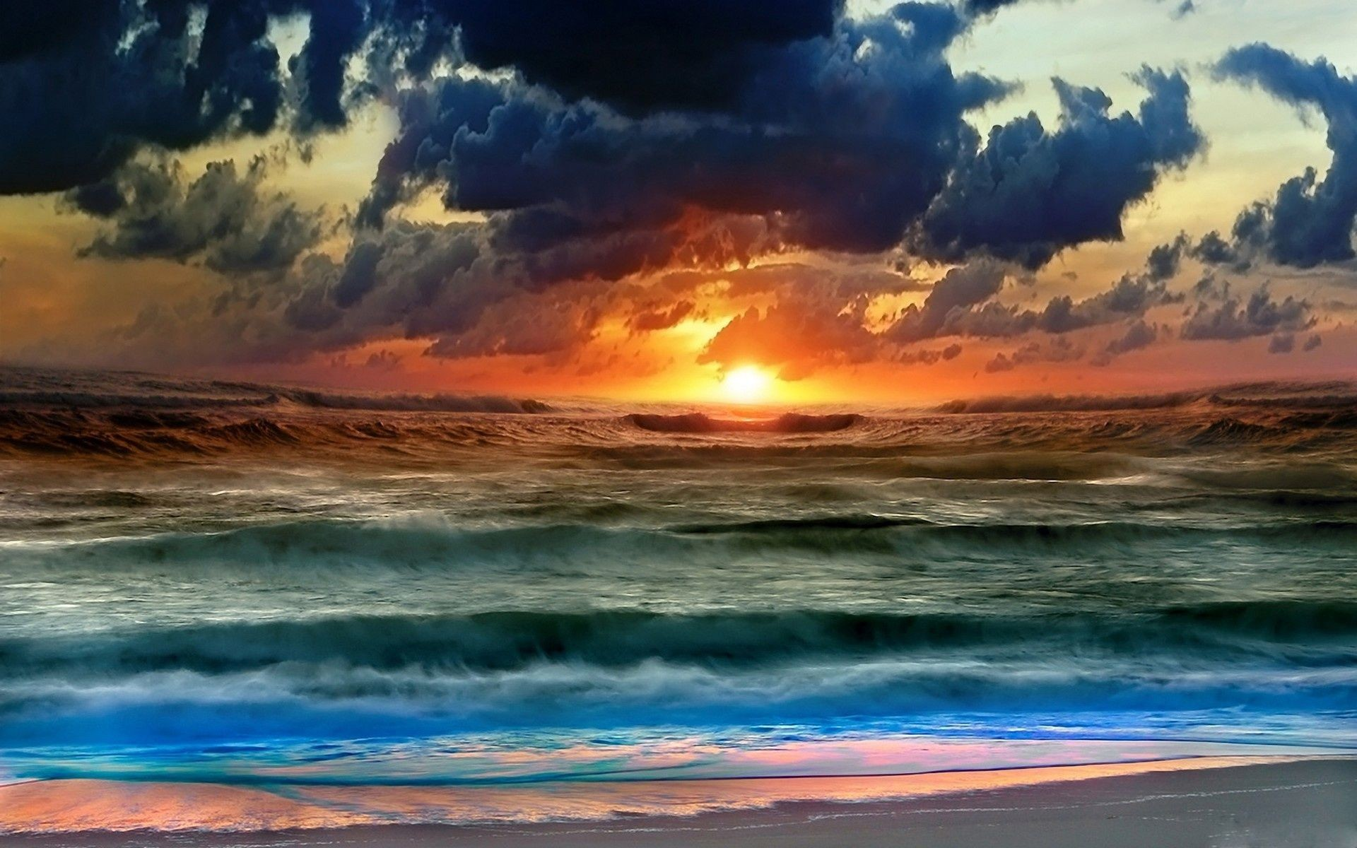 Explore Ocean Sunset, The Ocean, and more! Stormy Sunset wallpaper
