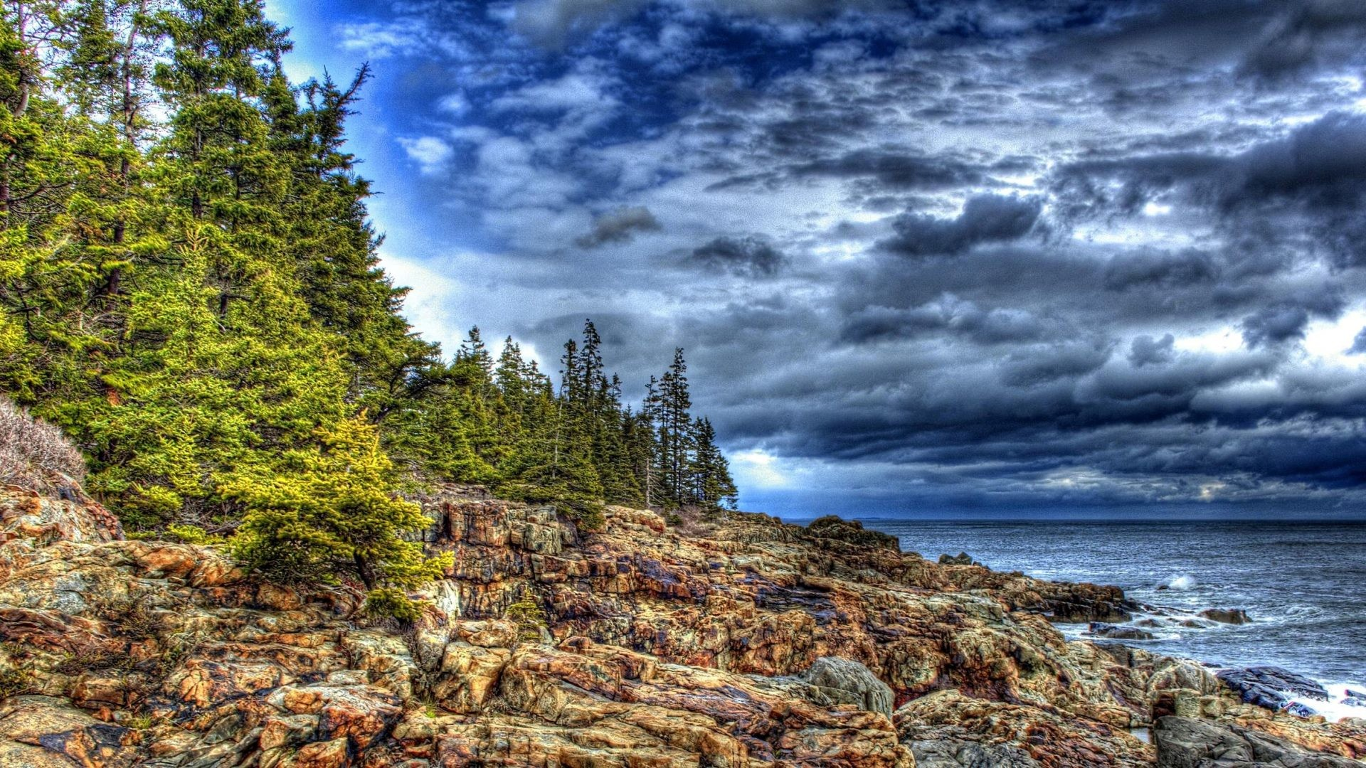 Stormy Tag – Beautiful Lovely Beauty Nature Trees Waves Stormy Leaves  Peaceful Sky View Rocks Storm