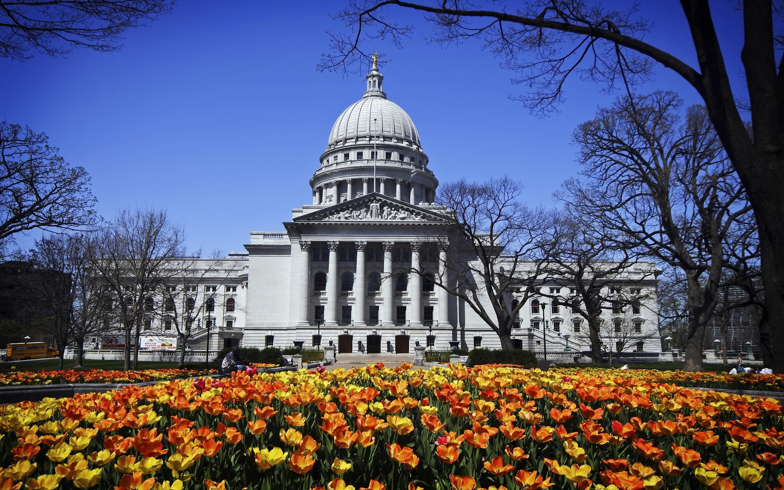 1280×800 1440×900 1680×1050 1920×1200 2560×1600. A Madison Spring Day – spring  wallpaper