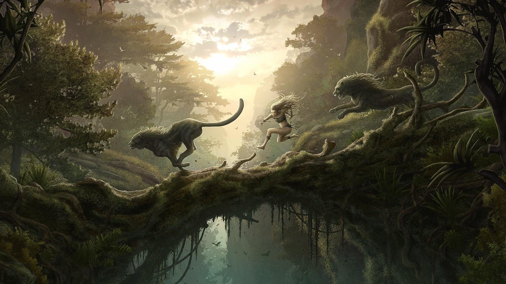 HD Wallpaper | Background ID:105706. Fantasy Landscape