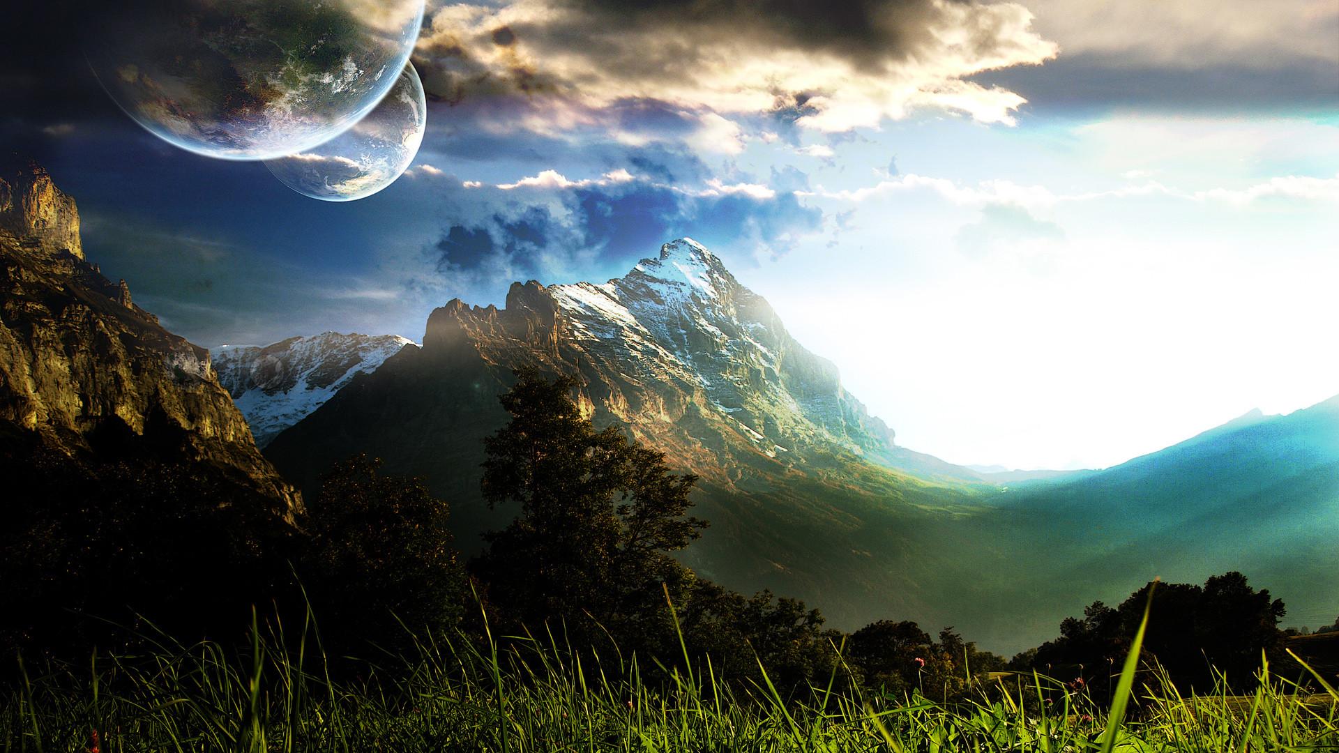 Sci Fi Landscape HD Wallpaper Desktop #7zk px 1.02 MB MovieDark  Fantasy. Widescreen