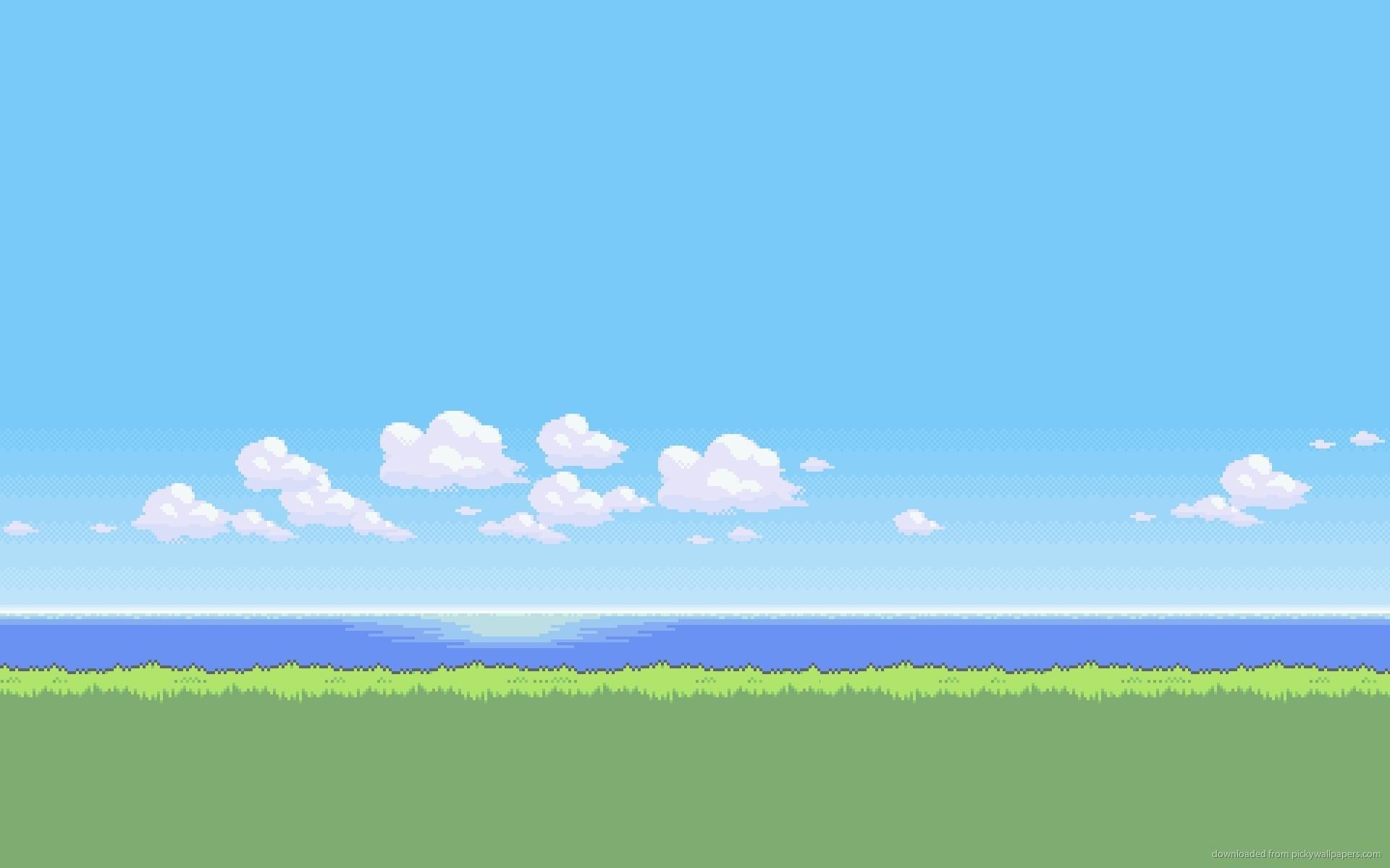 Pixel Landscap Pixel Landscape Background Tumblr Pixel gif backgrounds