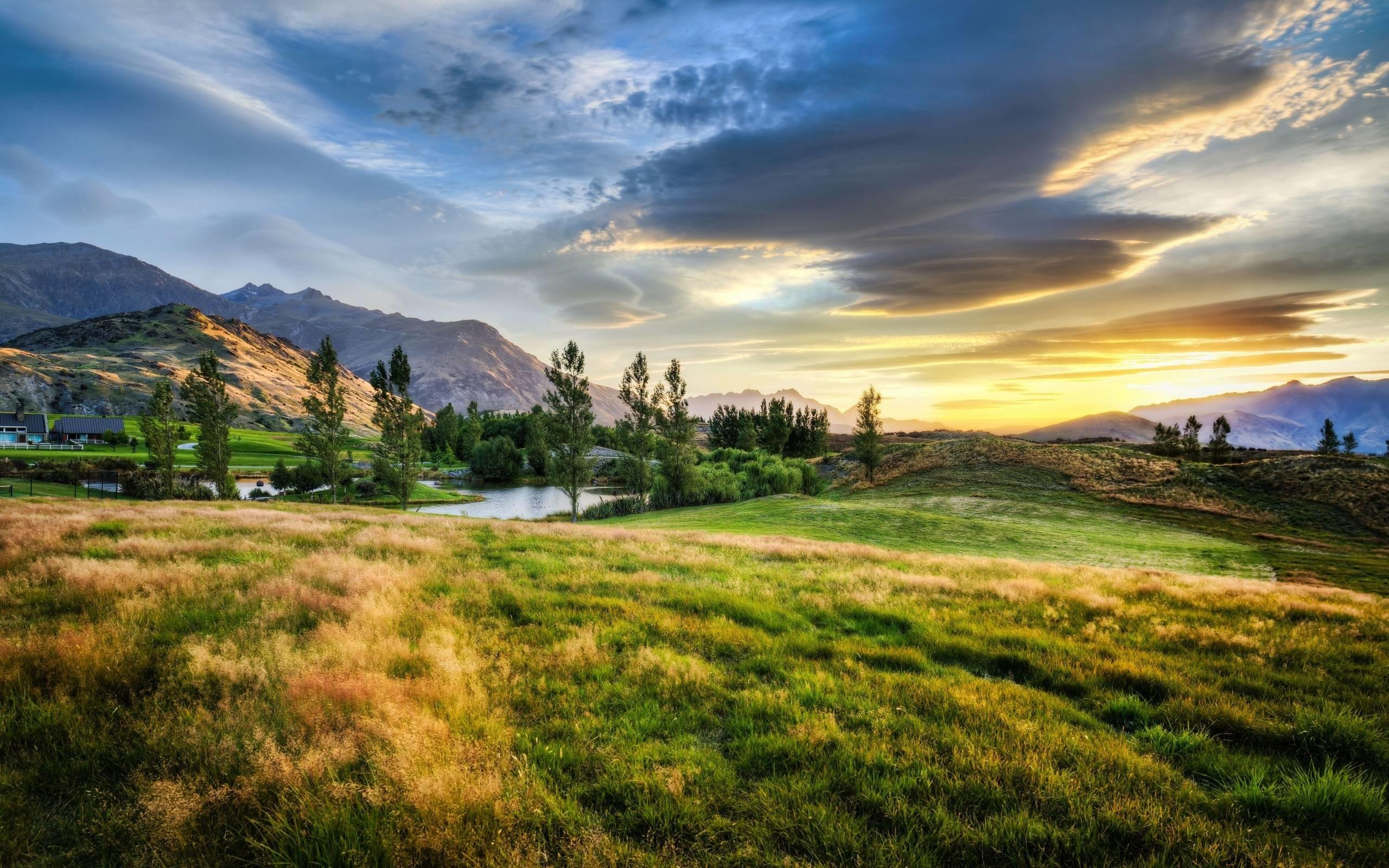 New Zealand Landscape Wallpaper Free Desktop 8 HD Wallpapers .