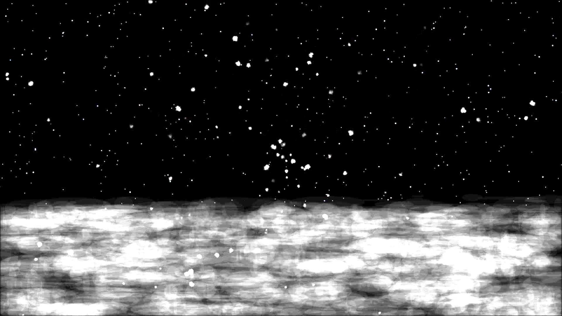 dreamy snow falling background hd snowfall on winter's night animated cool  animation backdrop – YouTube