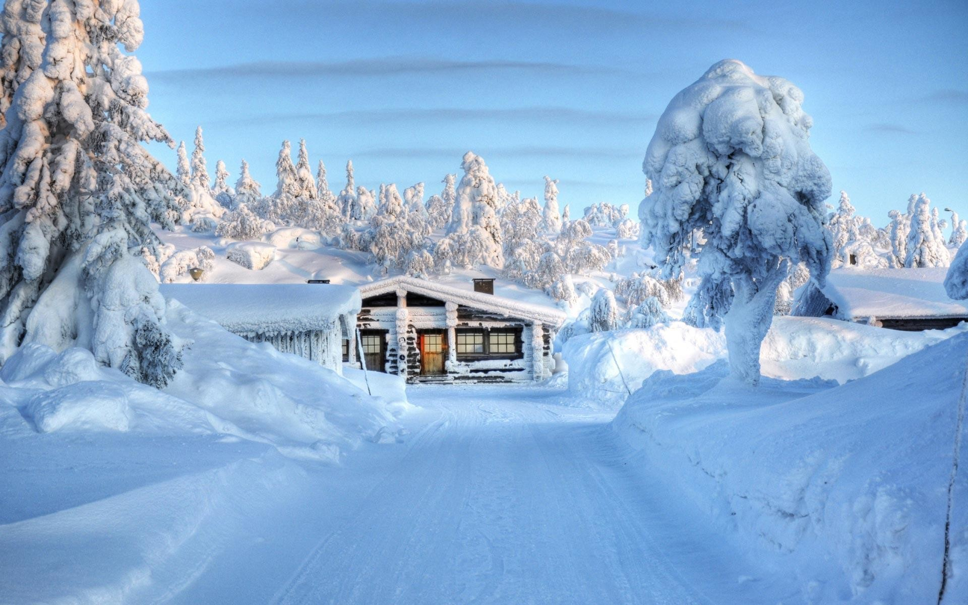 Snow Falling HD Wallpapers