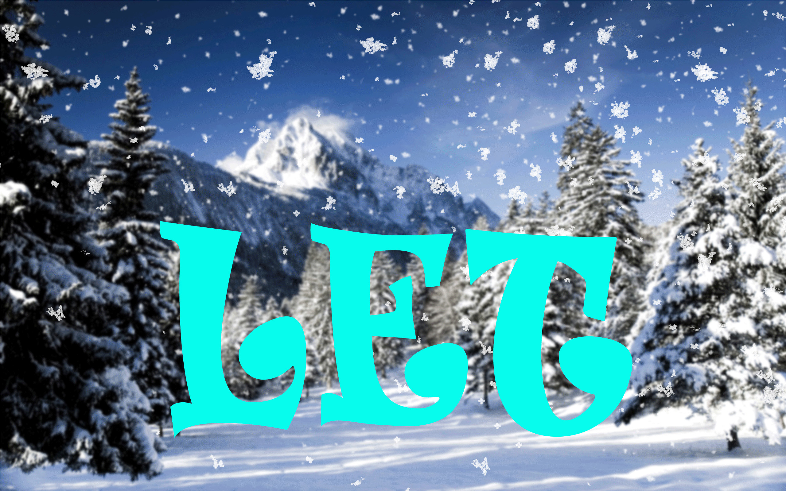 54373 The Touch Of Snow · SNOW SNOW SNOW animation 1