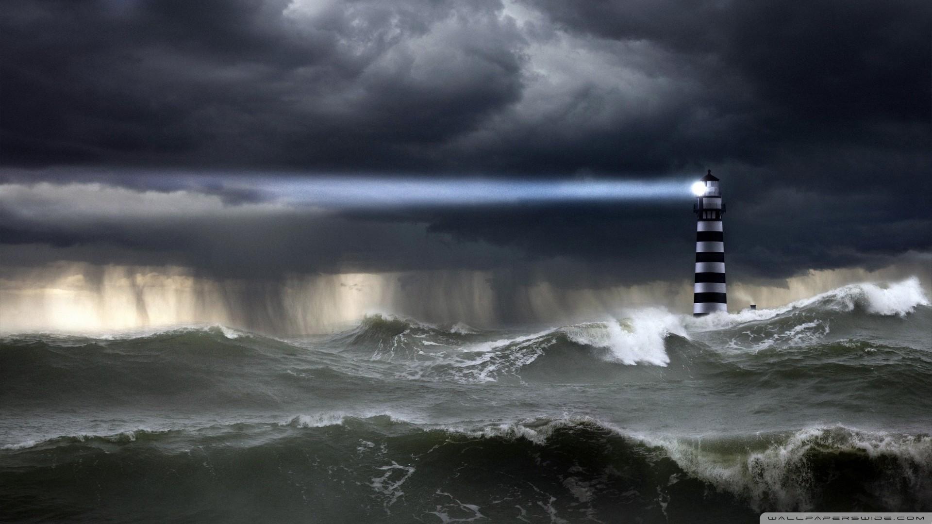 Sea Storm Wallpaper Sea, Storm