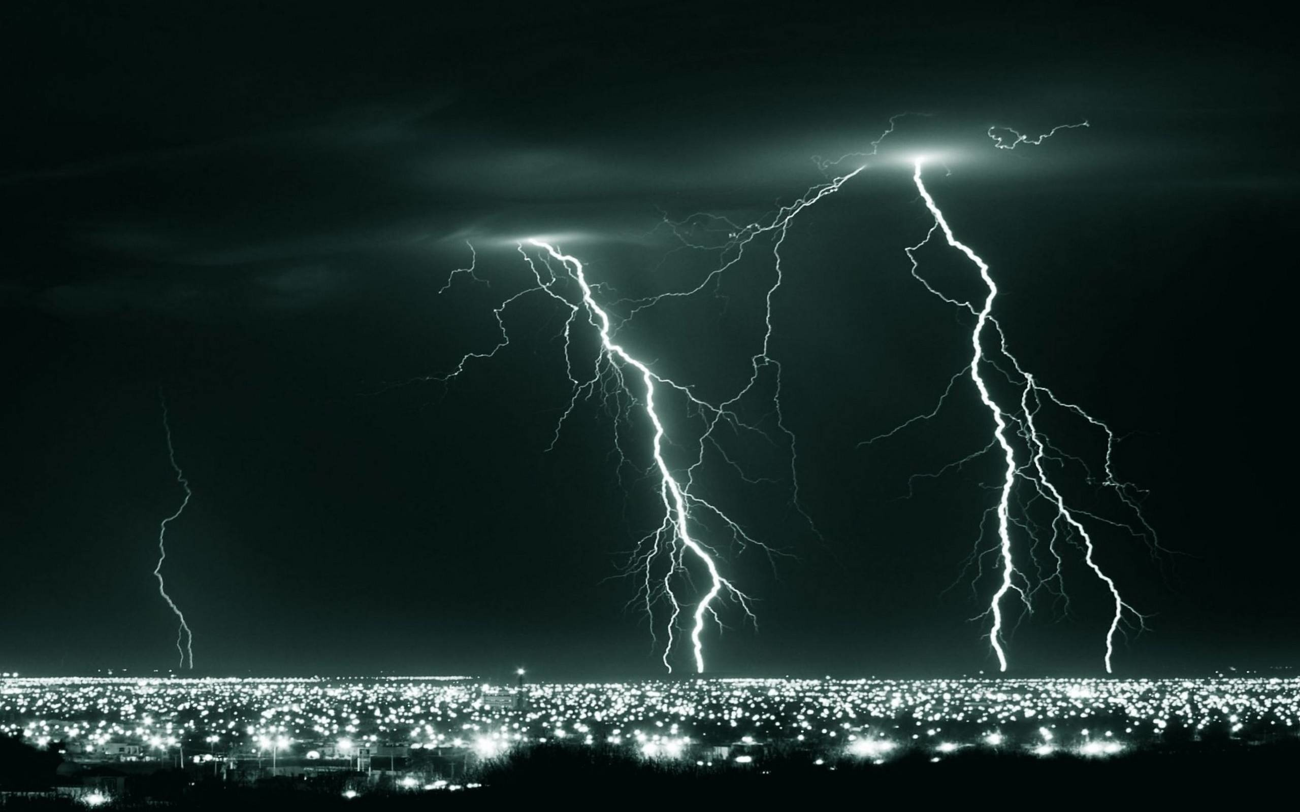 Wallpapers For > Lightning Storm Wallpaper Hd