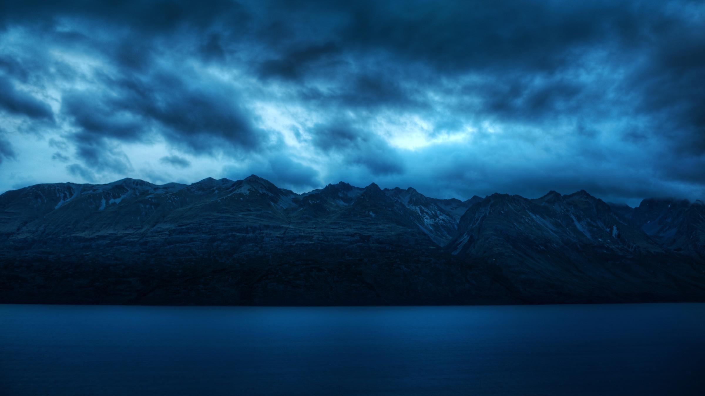 Mountain Storm wallpaper