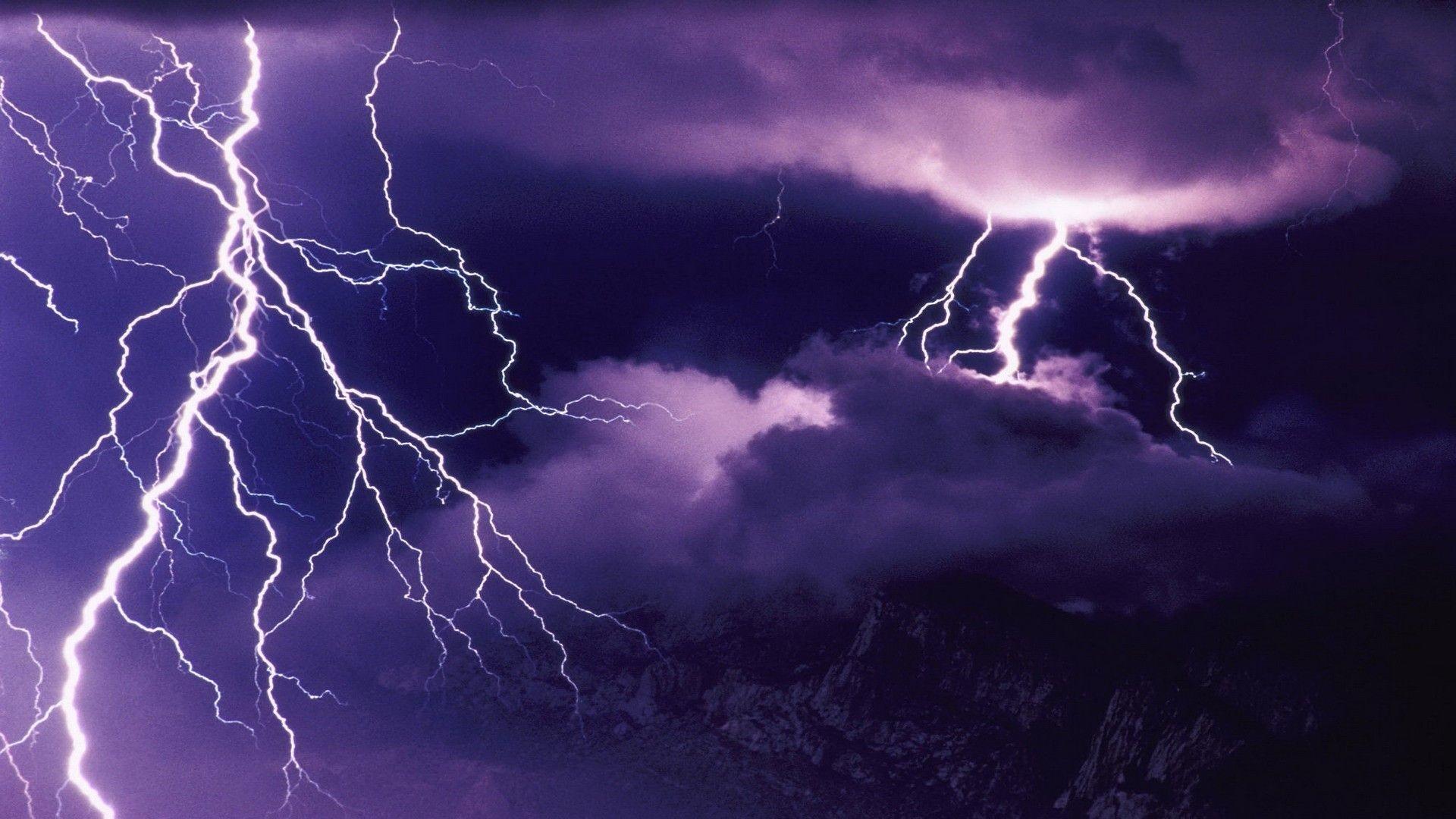 Lightning Storm Wallpaper HD Free.