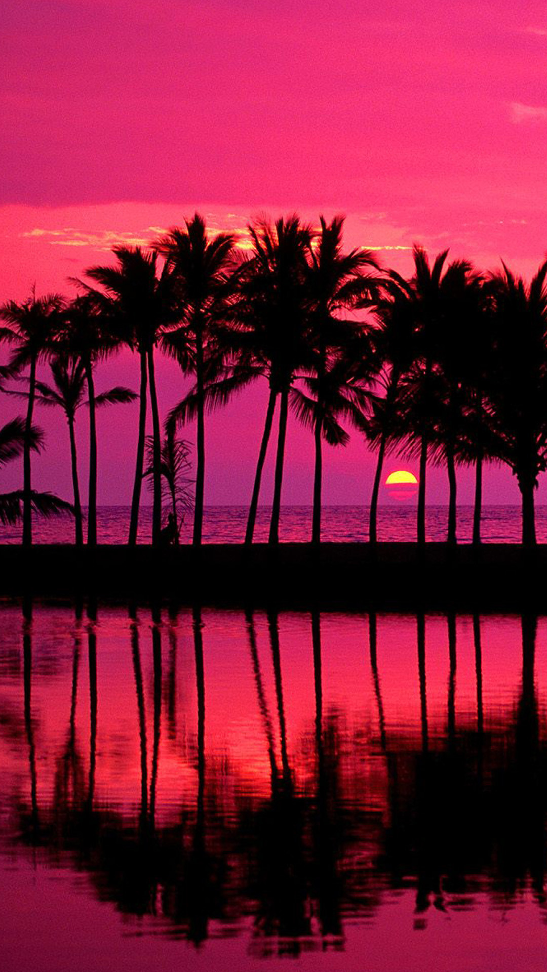 Hawaiian sunset Wallpapers for Galaxy S5