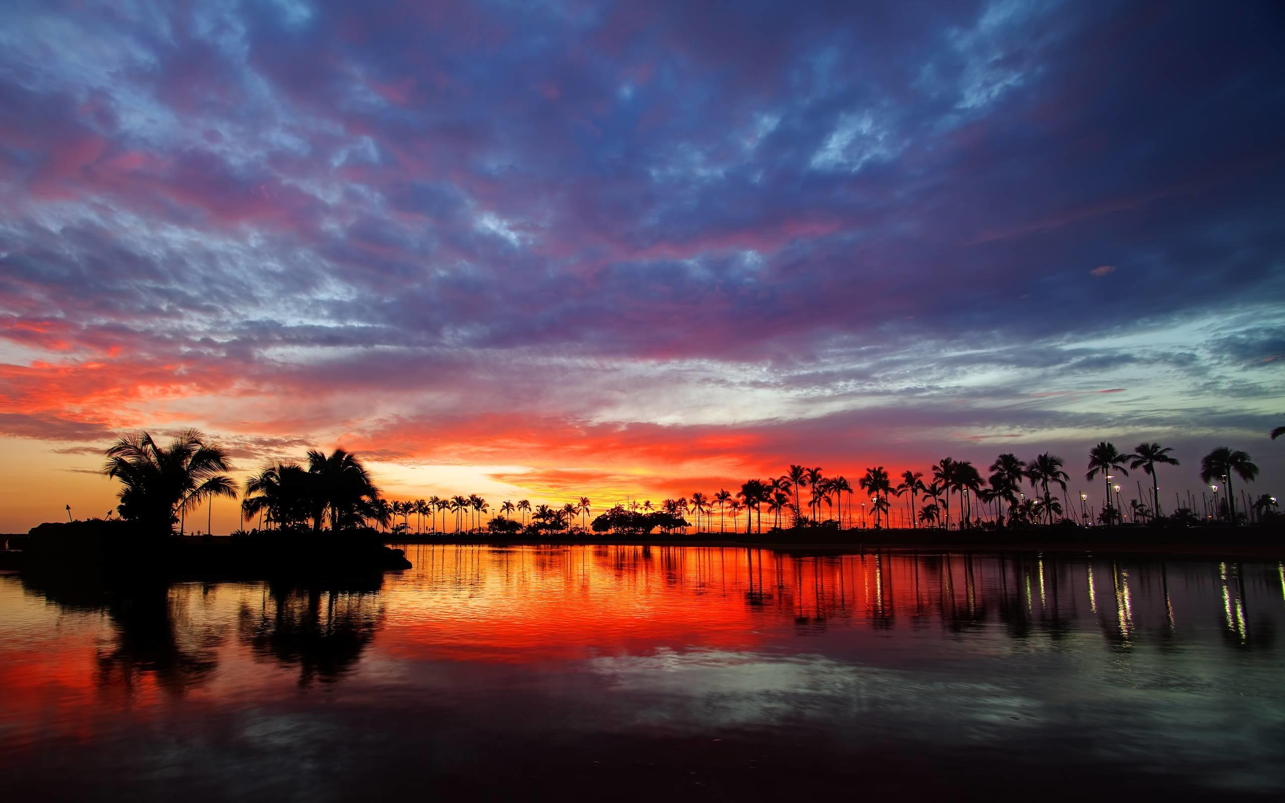 Hawaii Sunset Wallpapers Images 6 HD Wallpapers   Eakai.