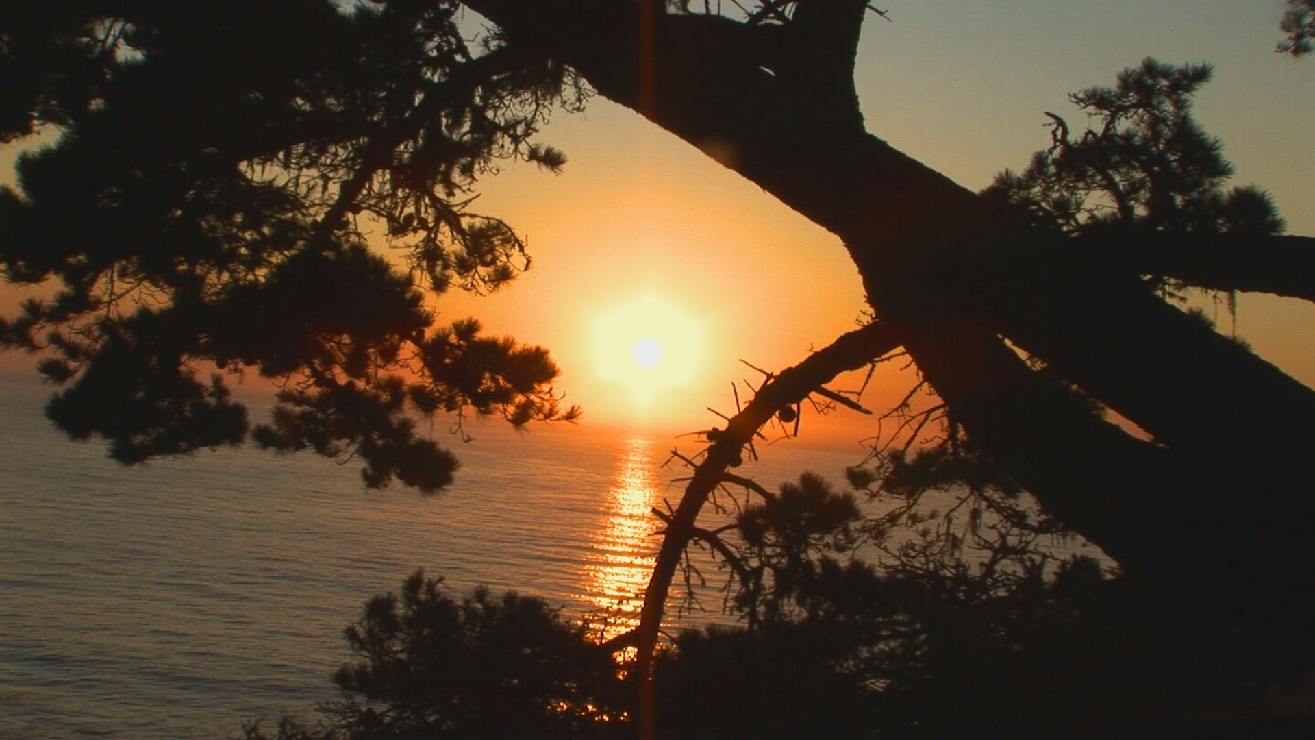 Big Sur Sunset Screensaver
