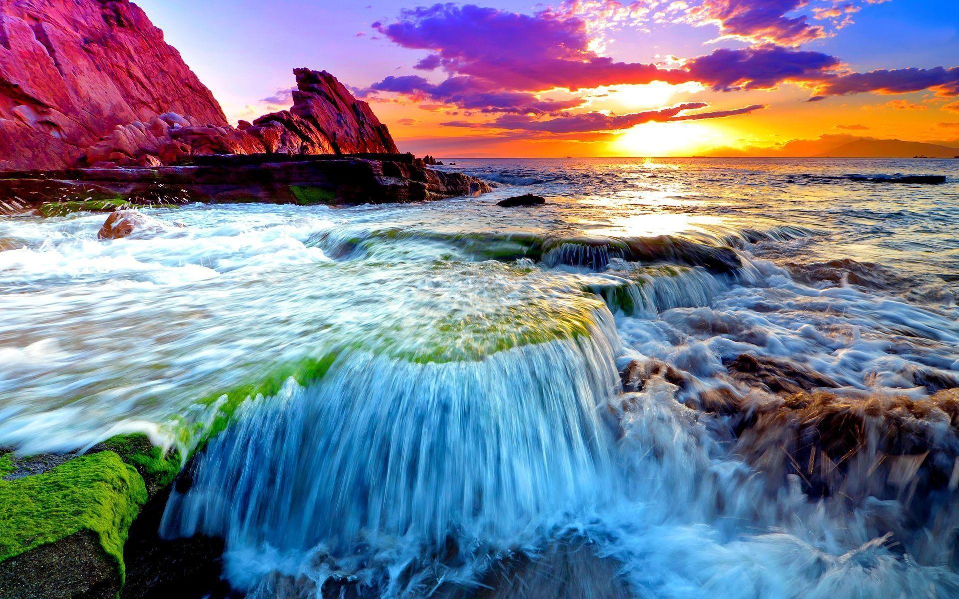 Ocean Sunset Wallpapers Desktop