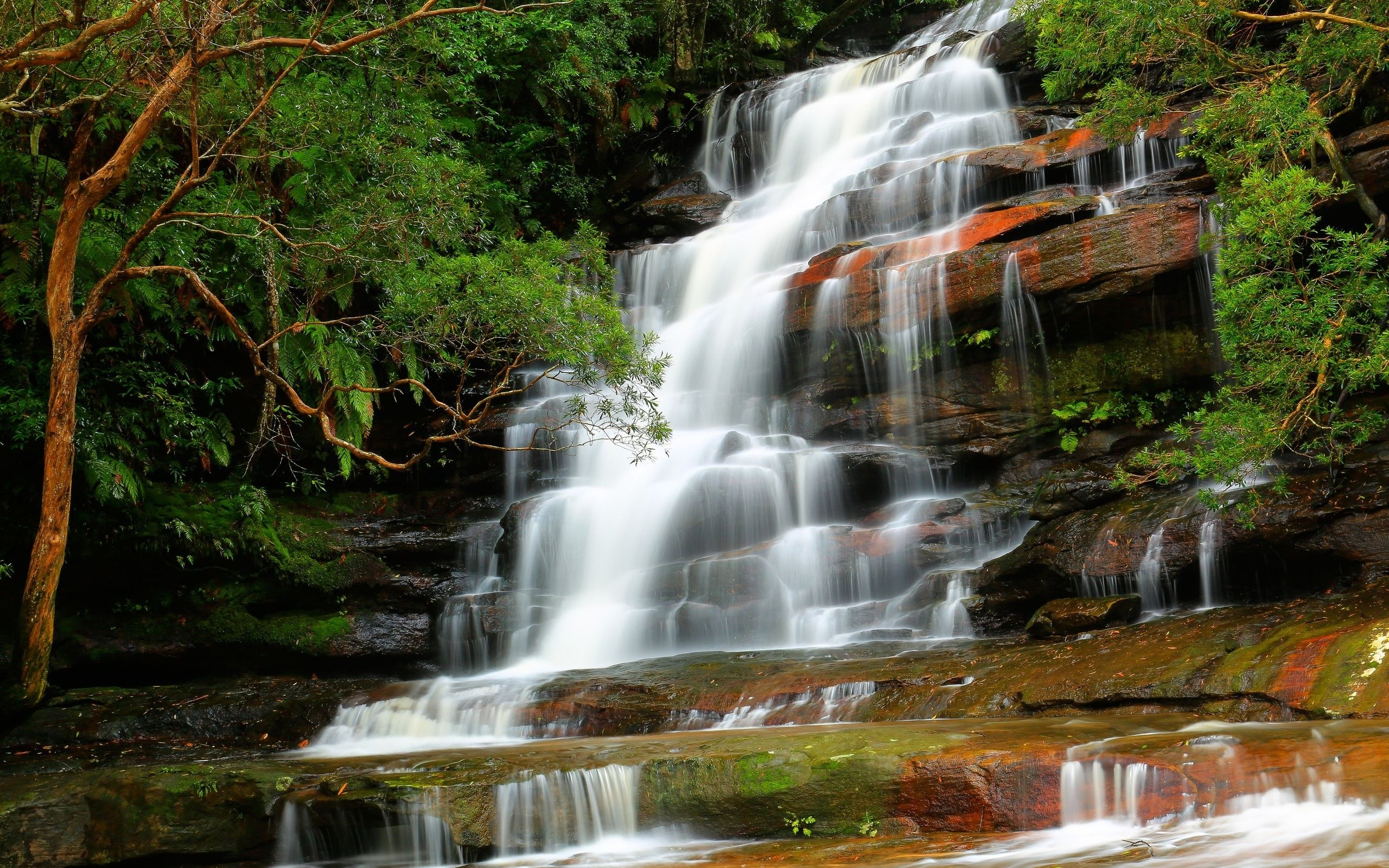 #Cool #WaterFall #Windows8 #Wallpaper ~ Somersby Falls #background