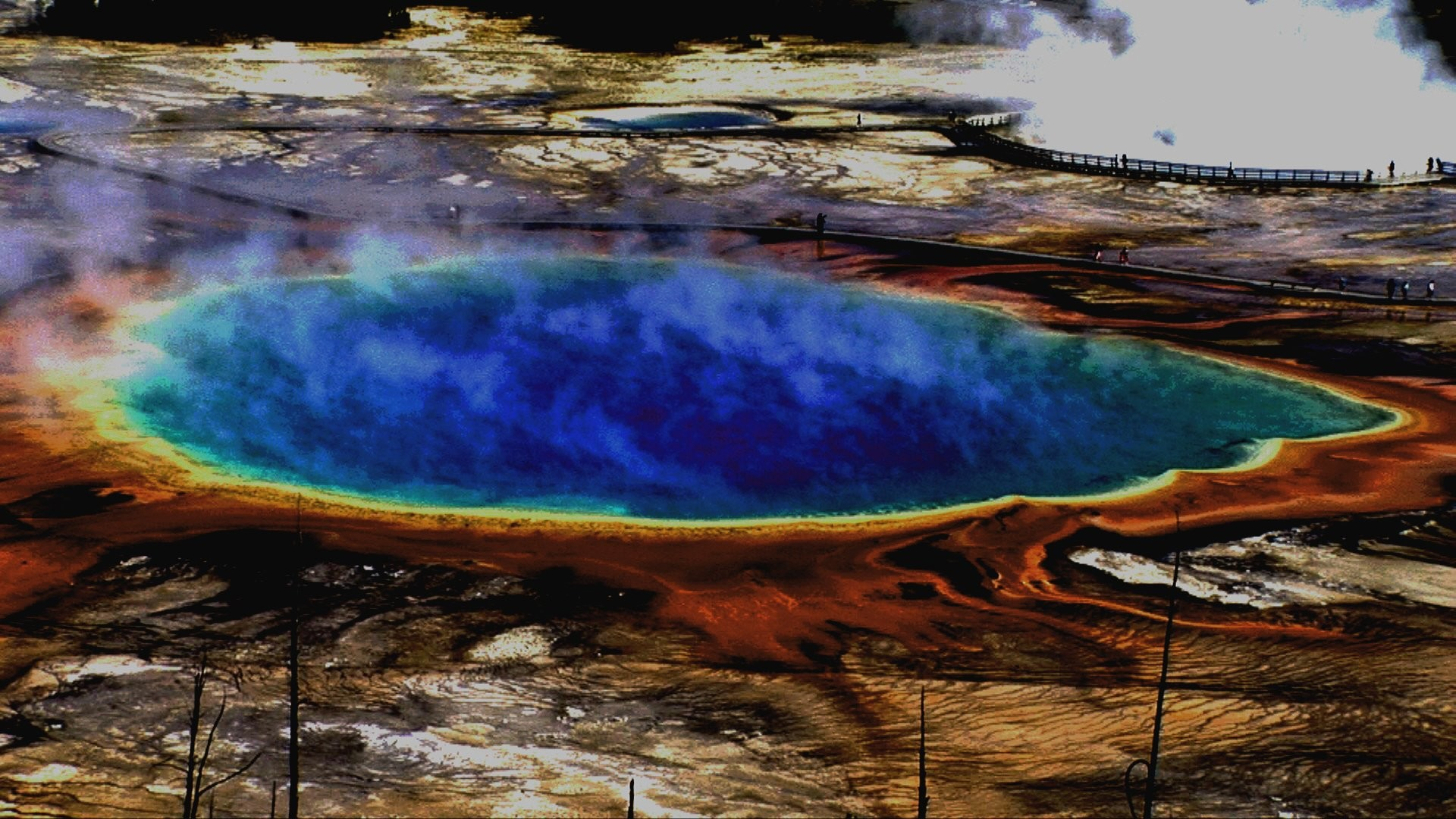 Yellowstone Screensaver Beauty Spring Prismatic Stories Grand Images …