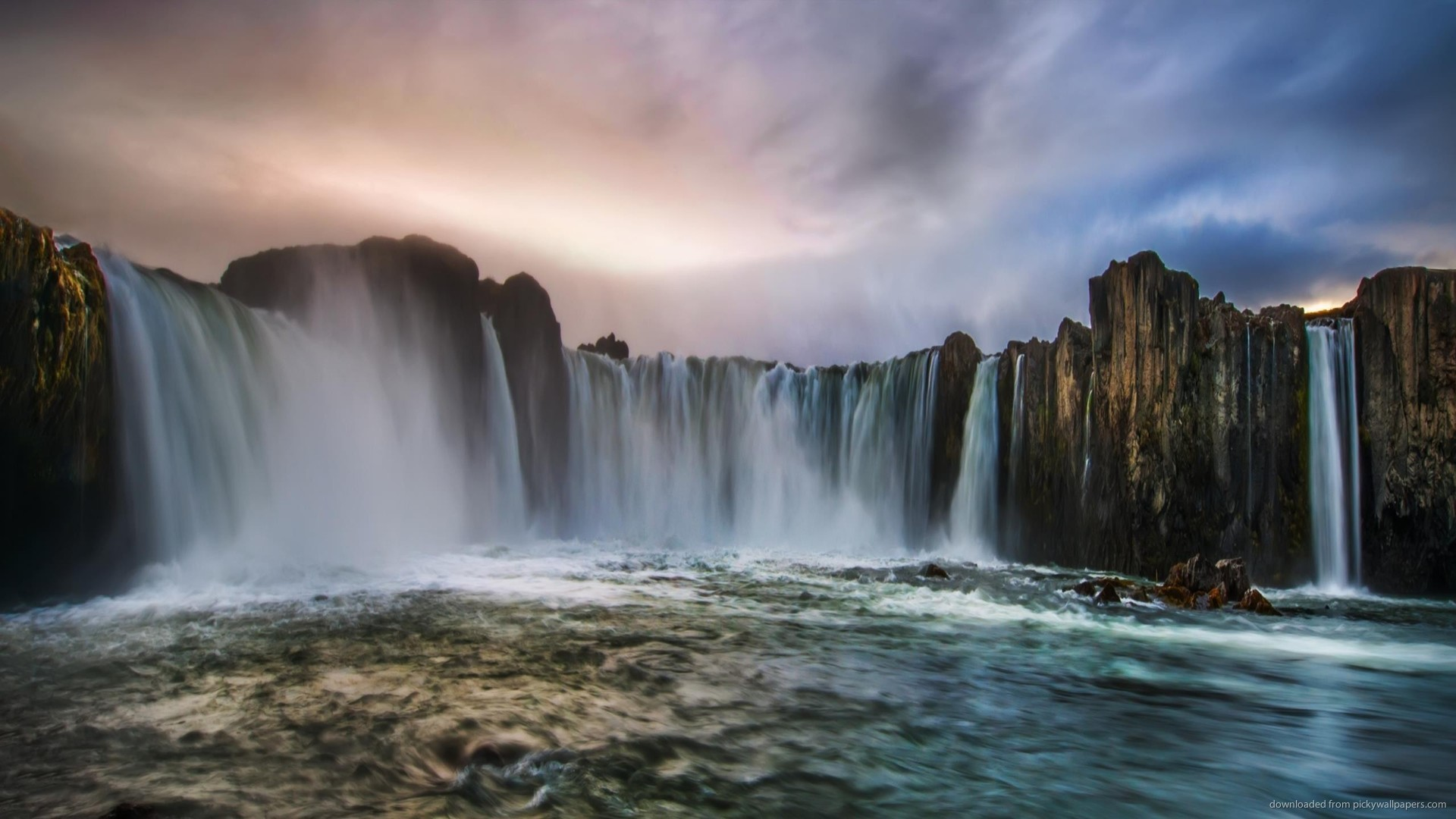 Iceland Waterfall picture