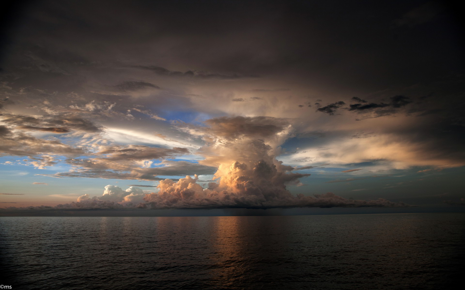 Storm Clouds Desktop Wallpaper