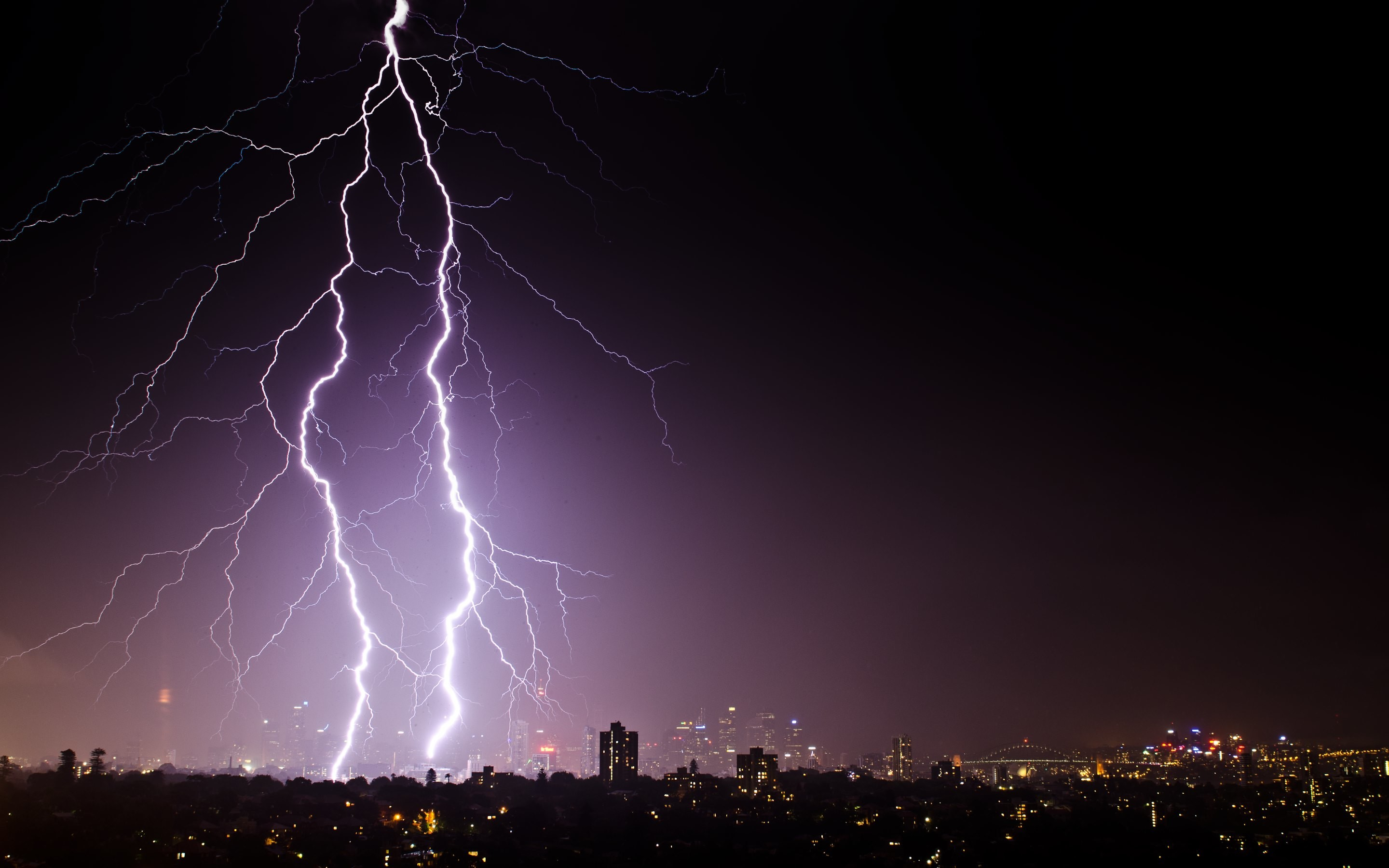 Lightning and Thunder in Sydney HD Wallpapers. 4K Wallpapers