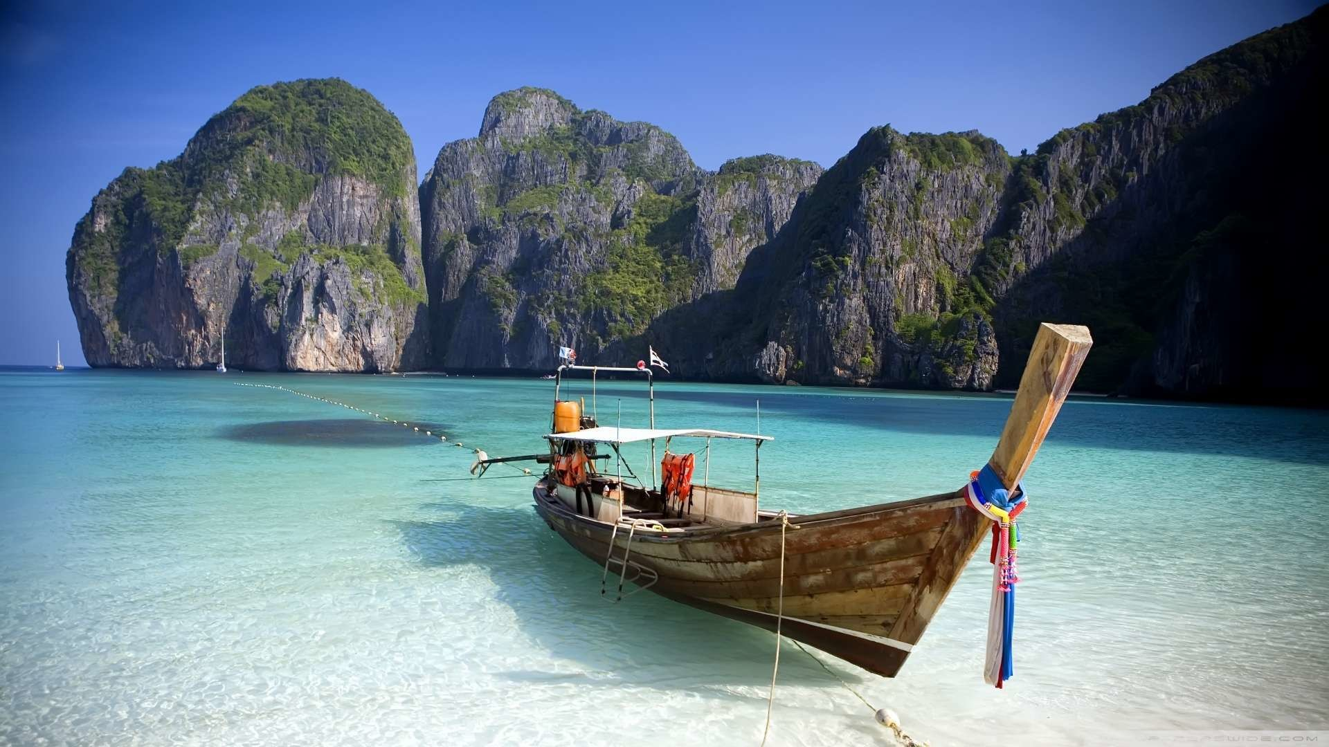 Thailand Beach Wallpaper 1080p HD
