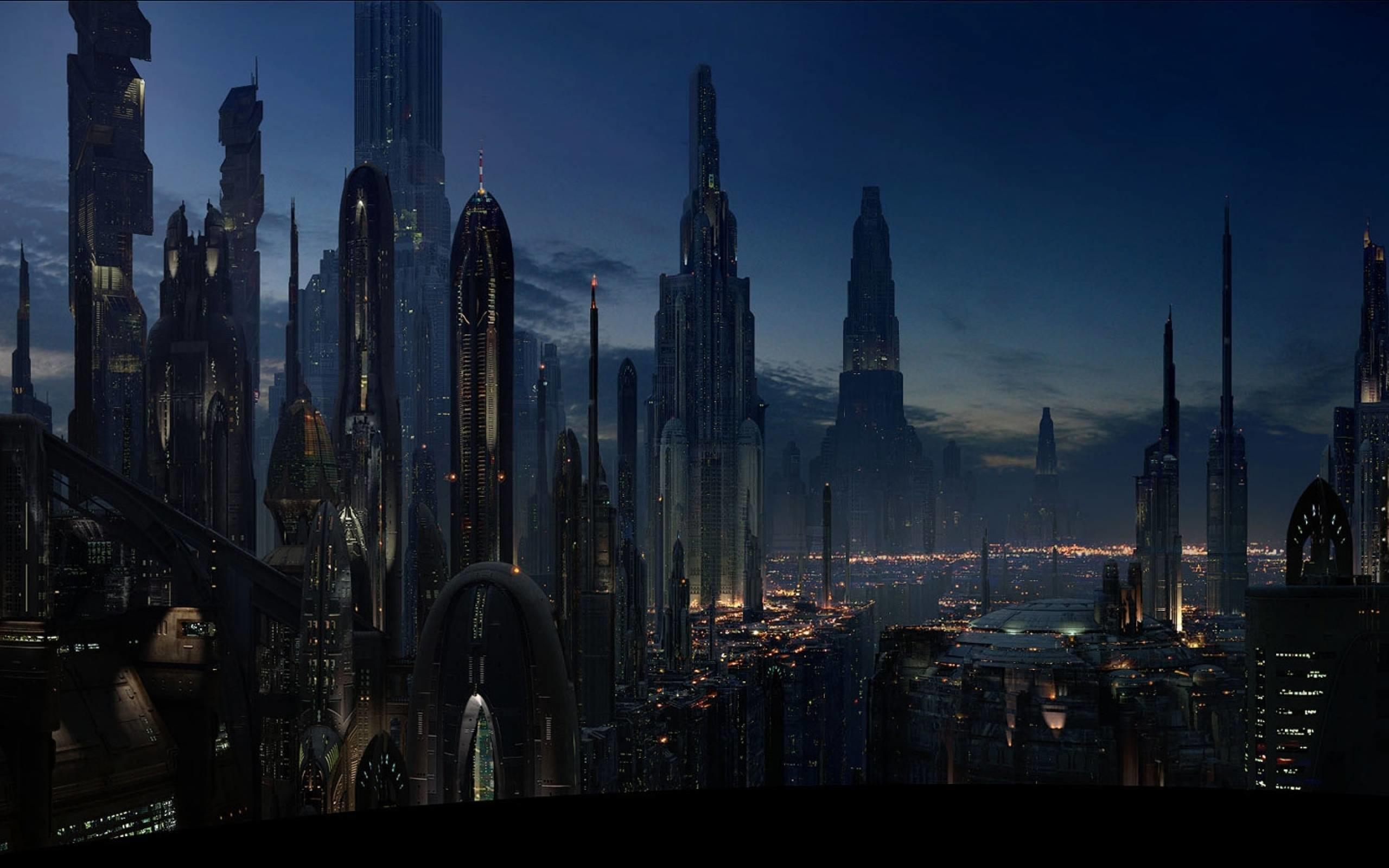 Landscape HD : Coruscant (2560/1600) – Star Wars Wallpaper .