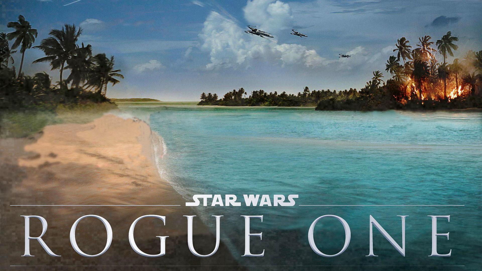 Star Wars Rogue One – Landscape Concept Art wallpaper