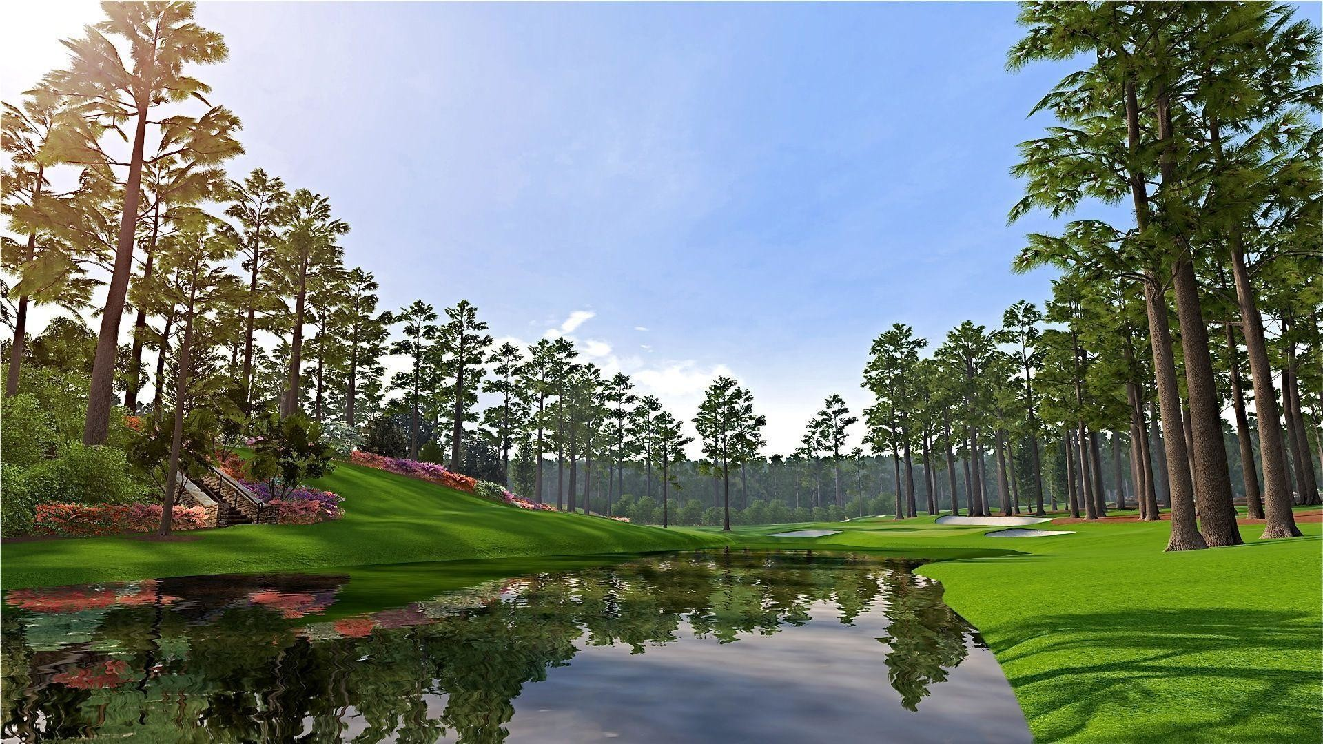 The Augusta National Golf Course Wallpapers HD Masters 2013