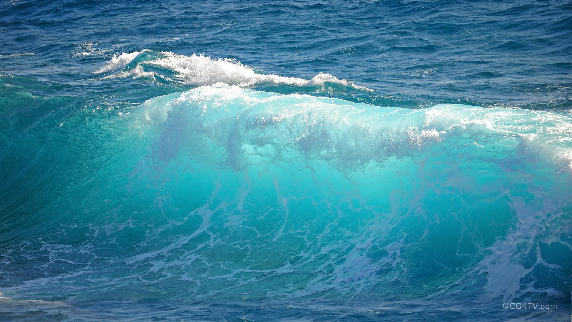 Free Ocean Waves Wallpaper
