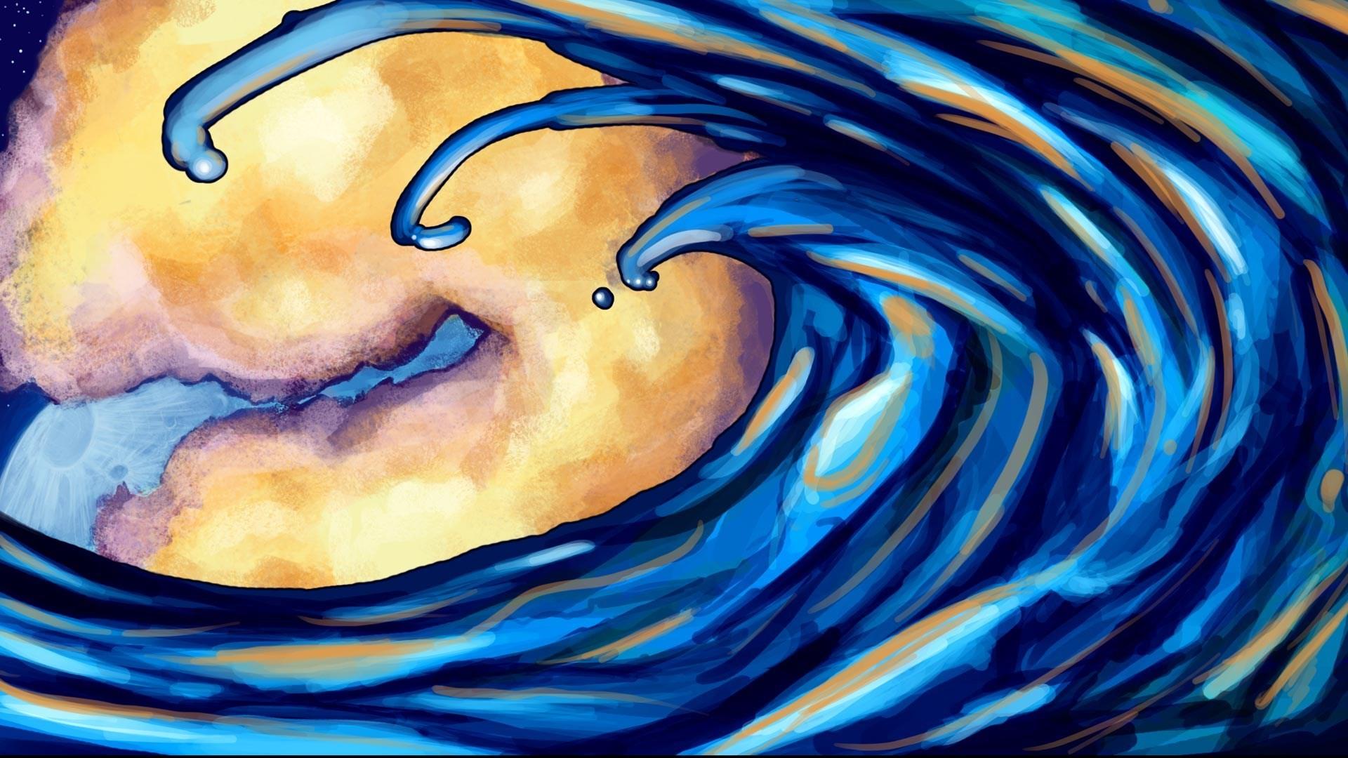 ocean-waves-art-hd-wallpaper – Magic4Walls.com