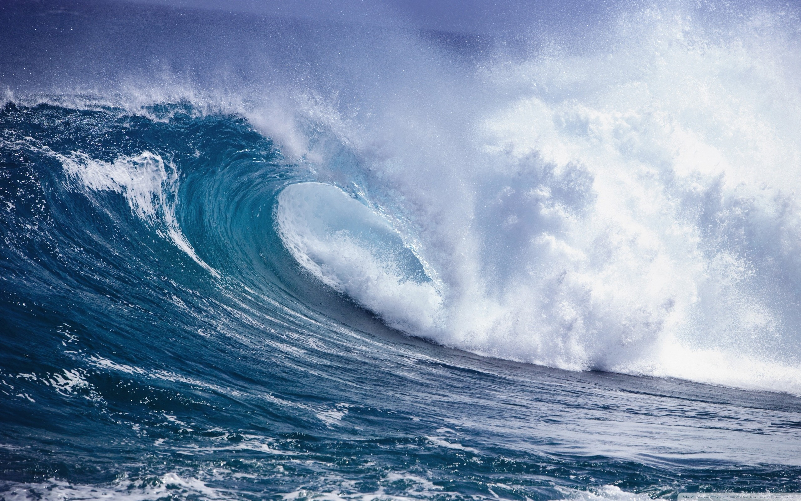 Sea Waves Wallpaper HD