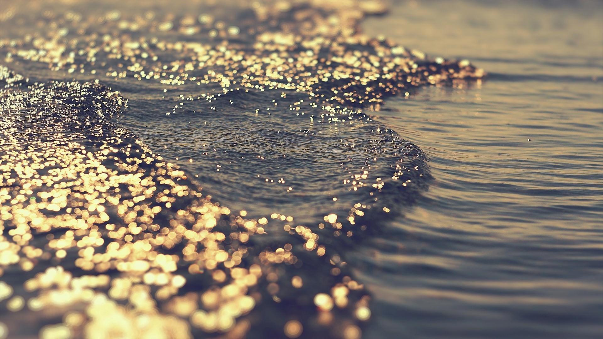3D Water Scene Background