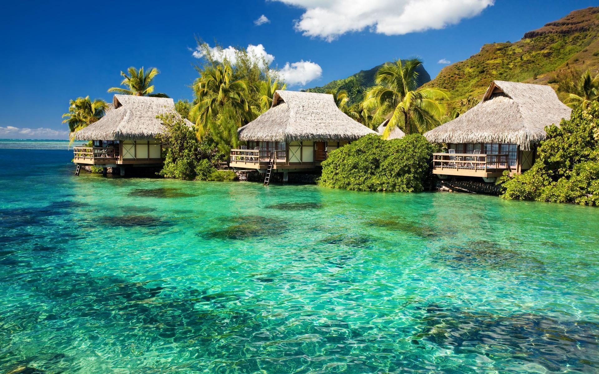 wallpaper desktop house beach scene ocean –   Images And ..