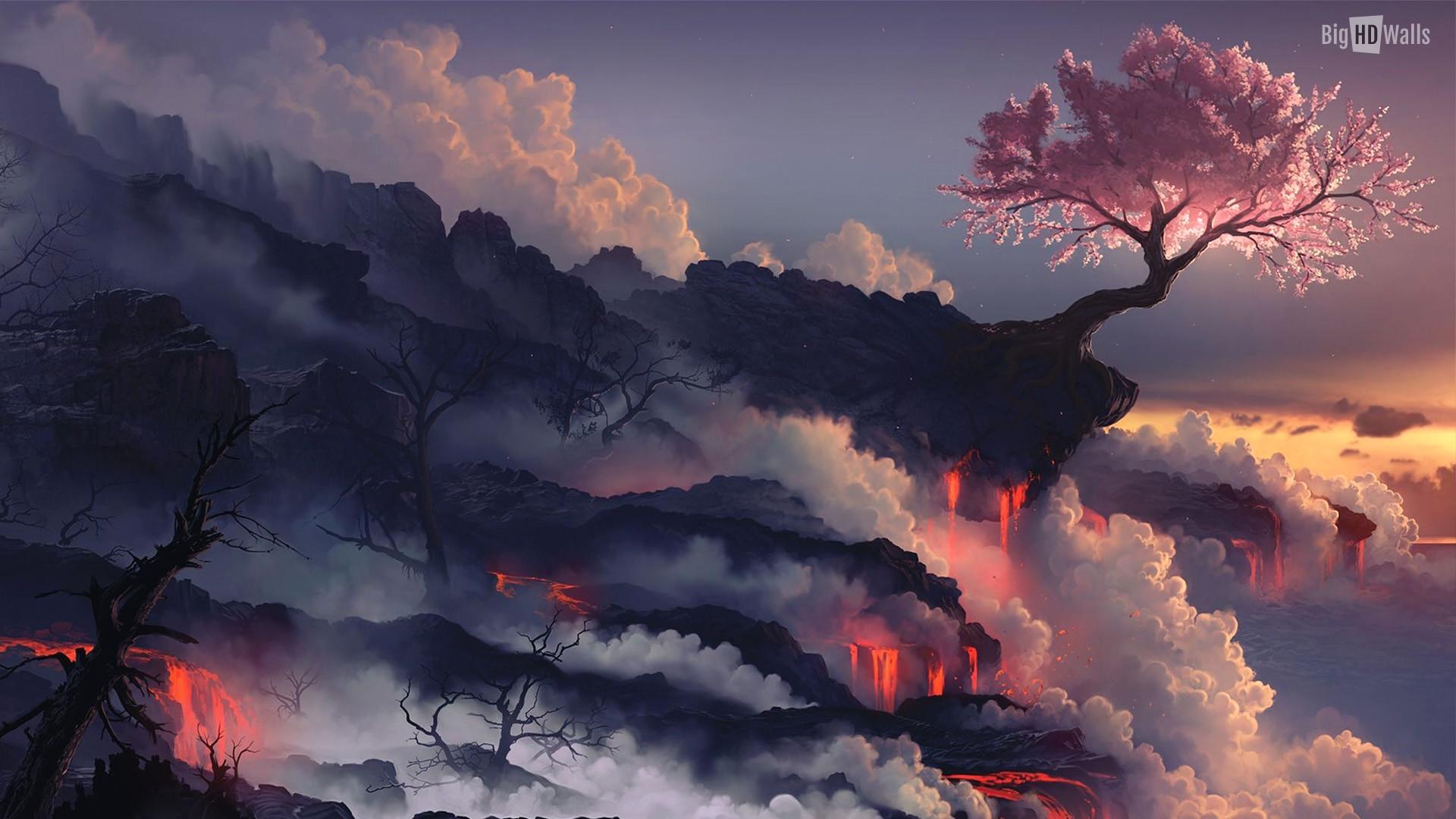japan-fuji-tree-Hd-Wall011