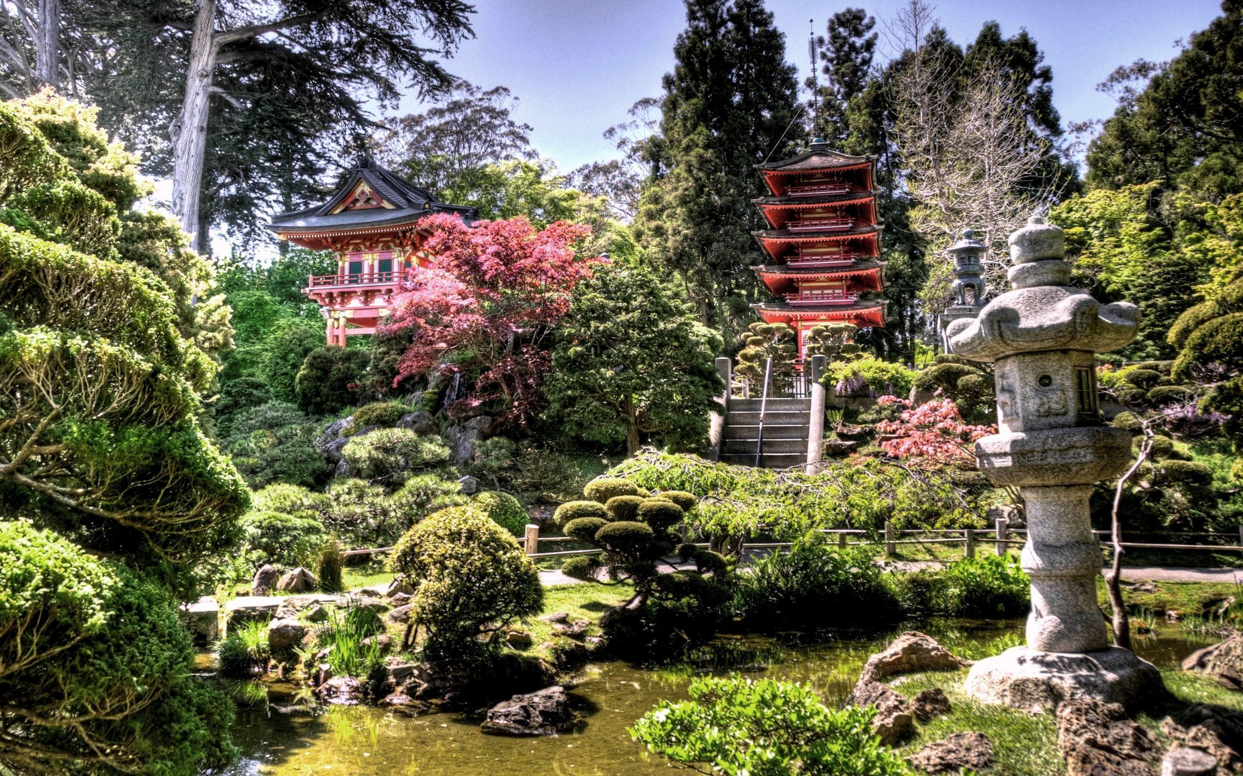 Japanese Tea Garden desktop wallpaper