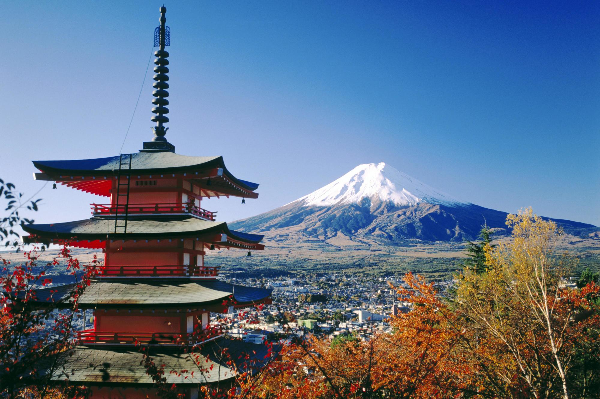 Cool Mt Fuji Wallpaper