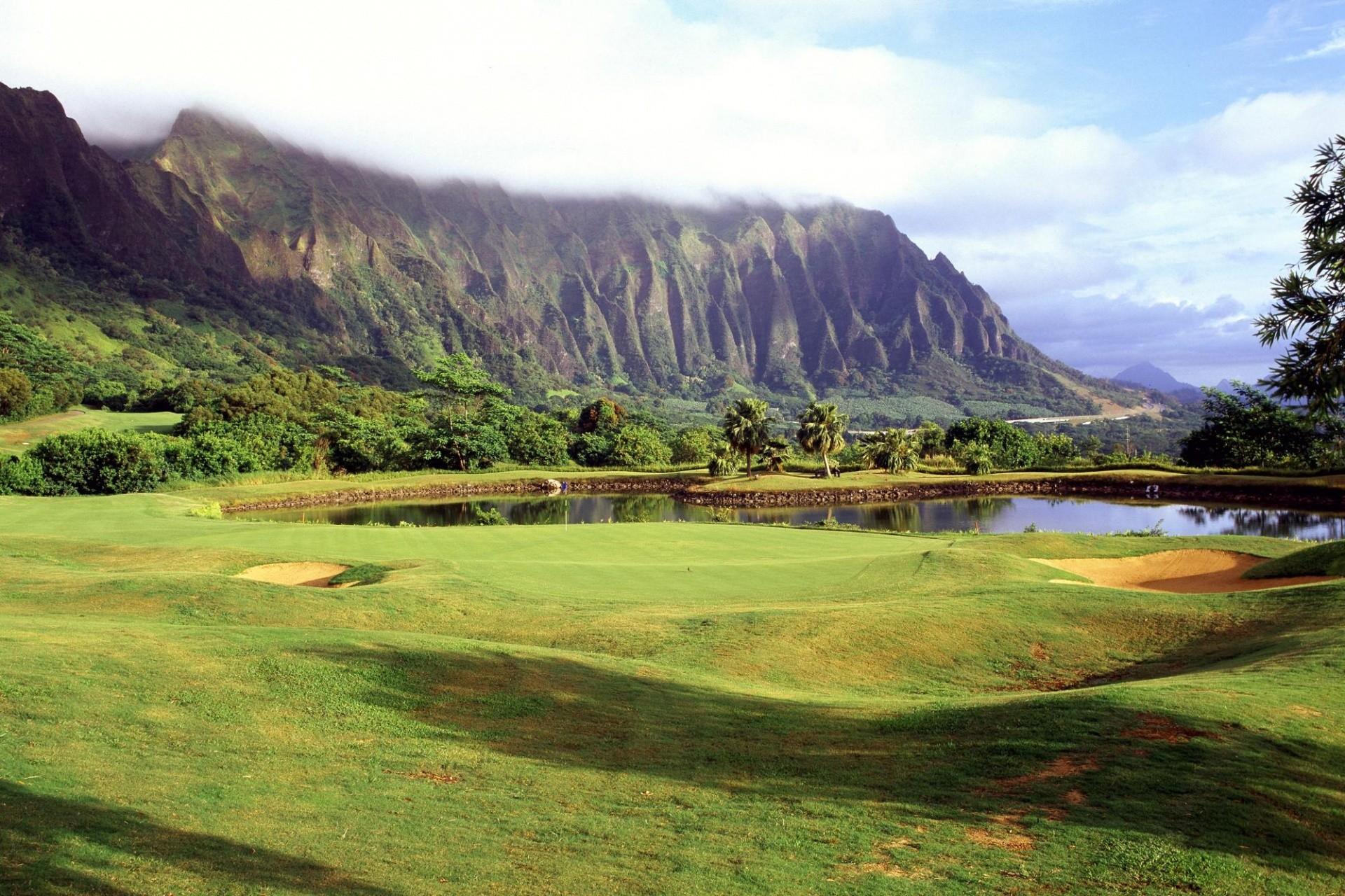 1920×1200 Quiet golf course desktop PC and Mac wallpaper
