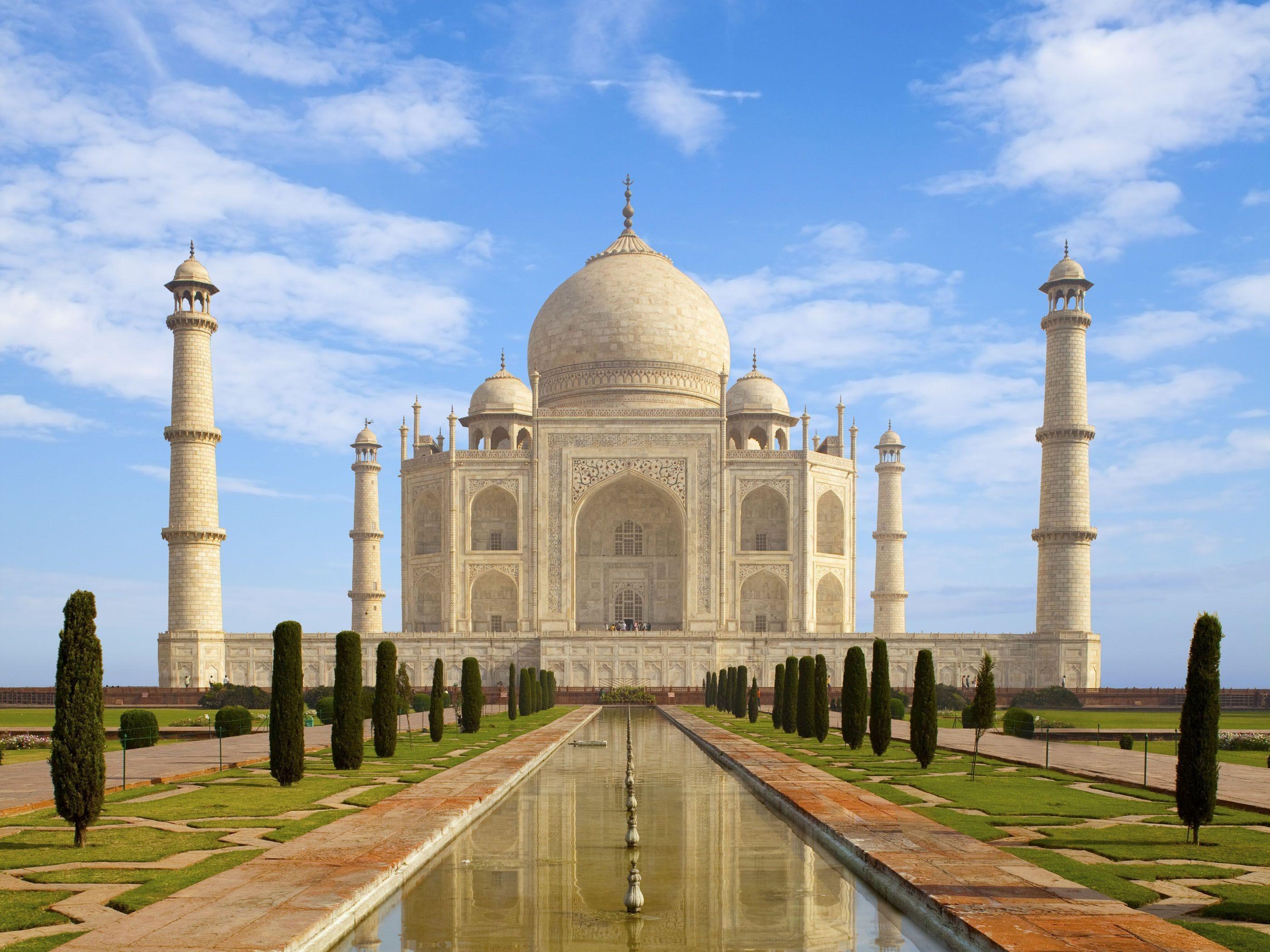 Taj Mahal HD Wallpapers Backgrounds Wallpaper