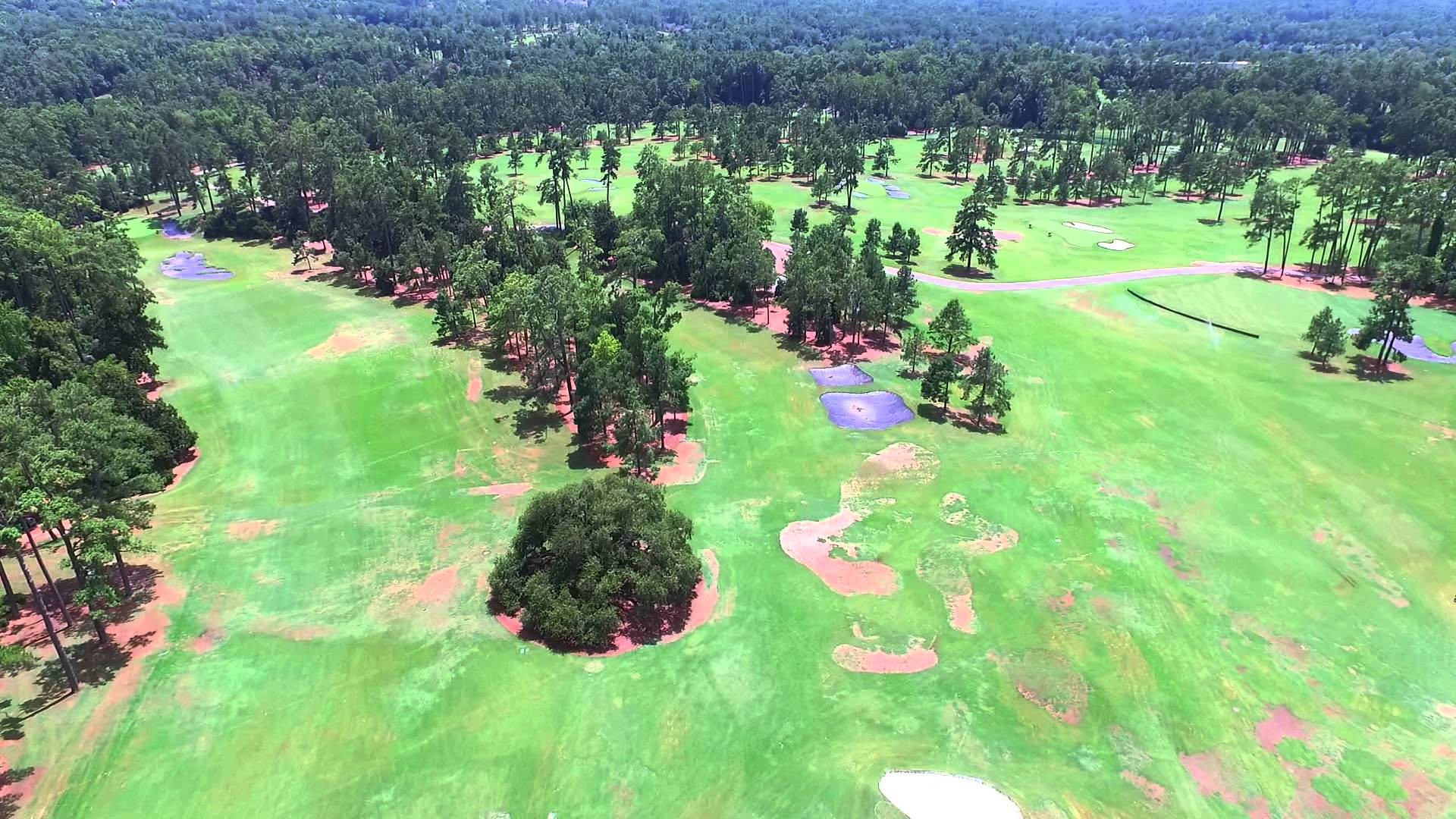 Augusta National – Magnolia Drive Flyover