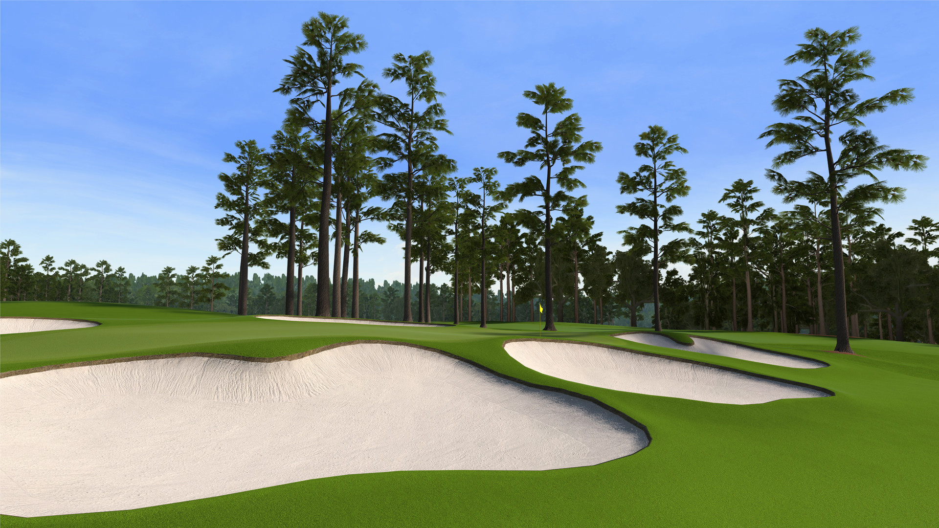 """7 at Augusta National as seen in the PS3 and XBox 360 versions of """"Tiger  Woods 12: The Masters."""""""