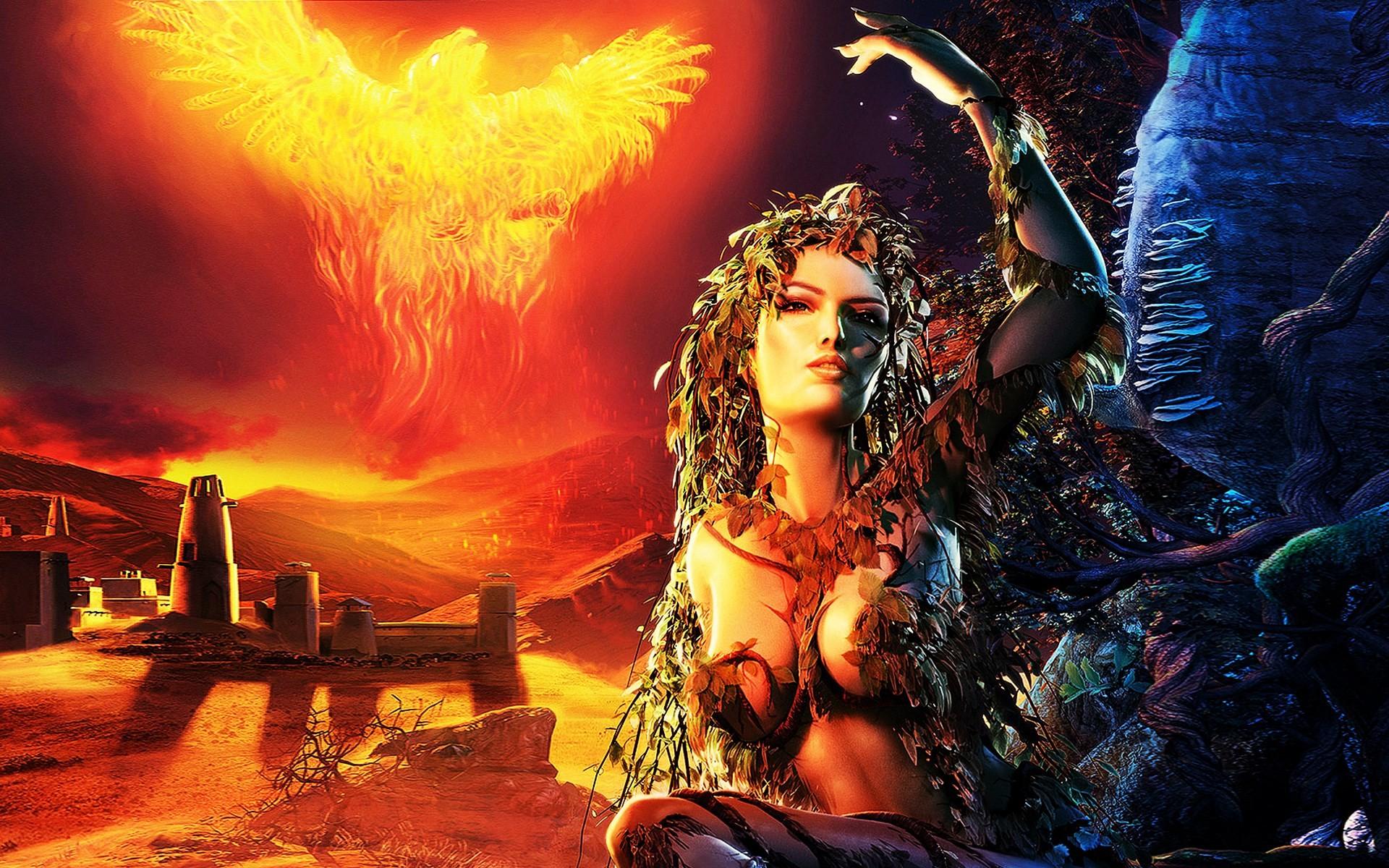 spellforce shadow of the phoenix desktop nexus wallpaper