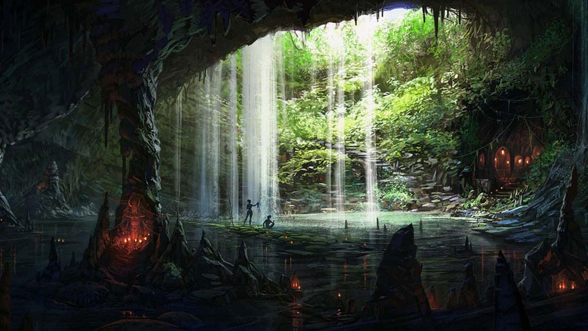 Amazing Cave Wallpaper