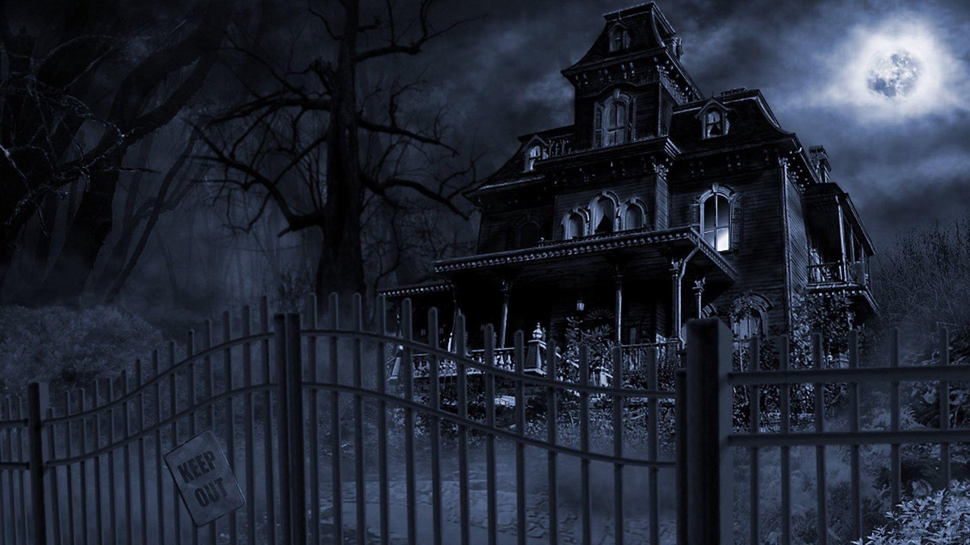 Haunted Mansion desktop PC and Mac wallpaper